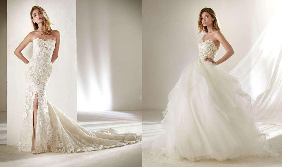 buy online 85f52 90f45 Abiti da sposa Pronovias Petite, la nuova collezione per ...