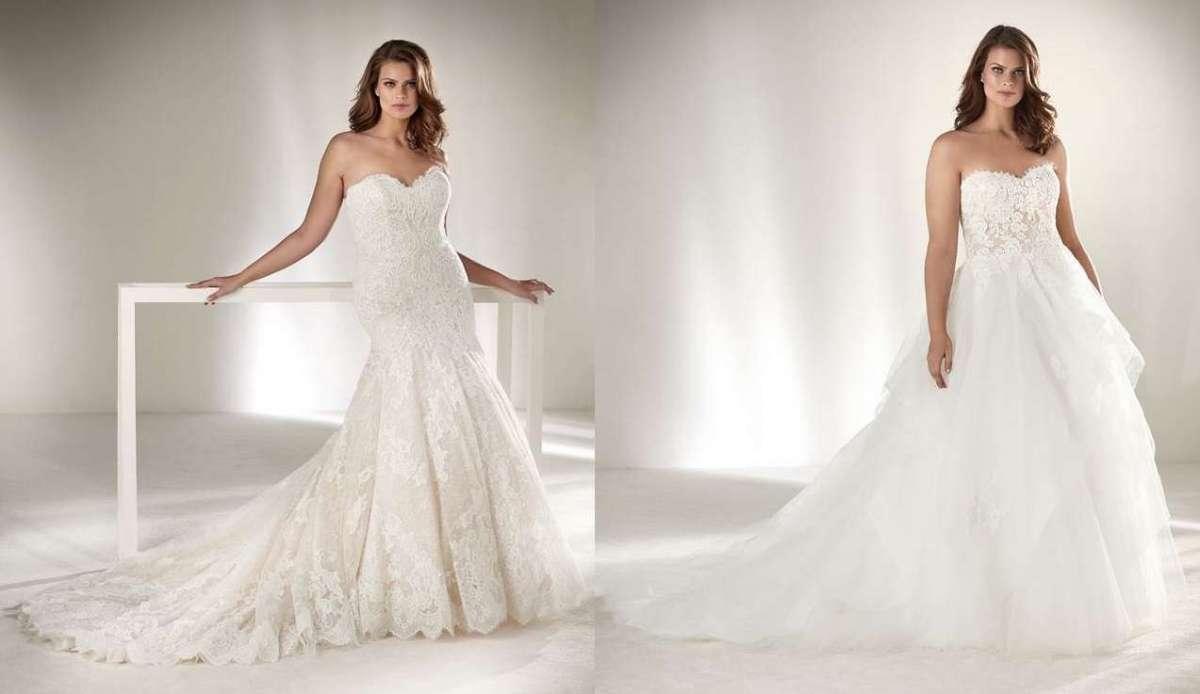 Abiti da sposa Pronovias Plus, i vestiti più belli per taglie forti