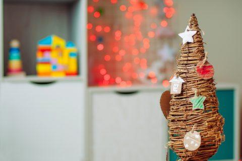Albero Natale legno riciclato