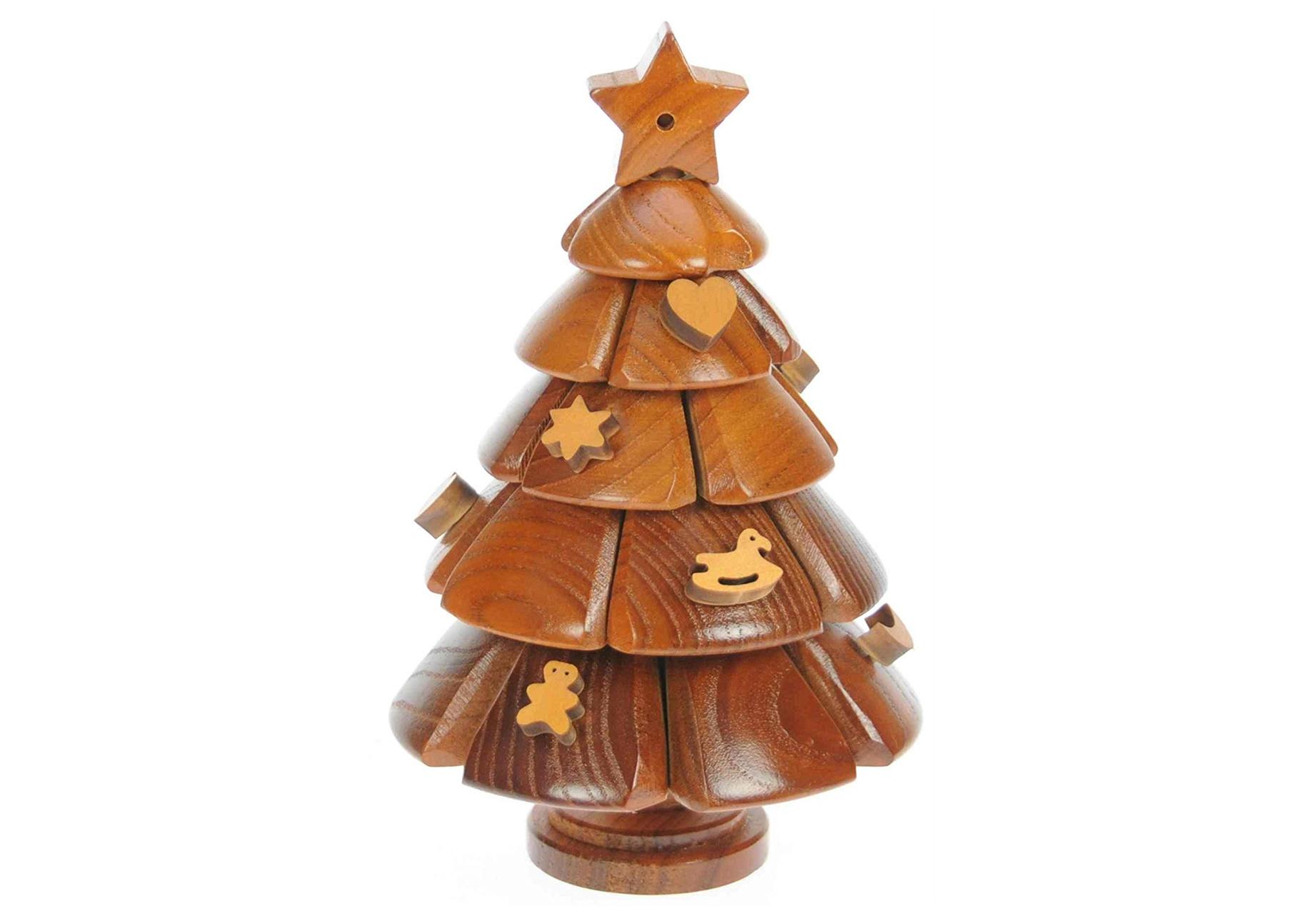albero natale legno 3