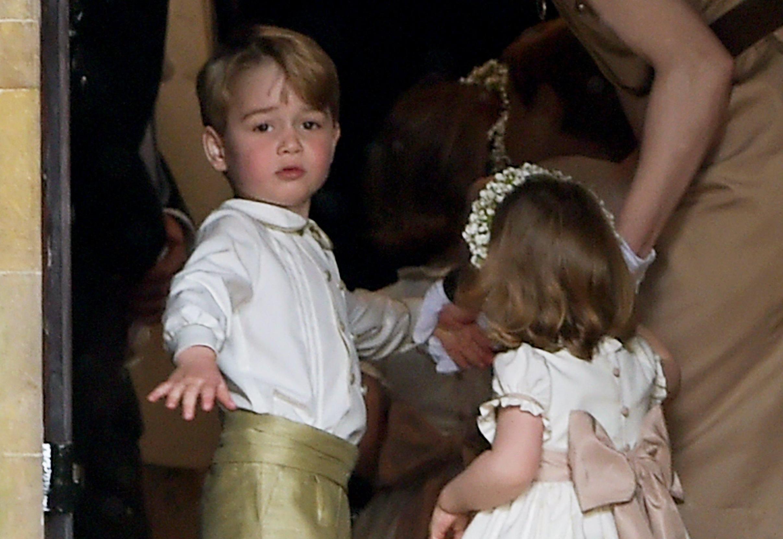 Il matrimonio di Harry e Meghan Markle: George e Charlotte paggetti