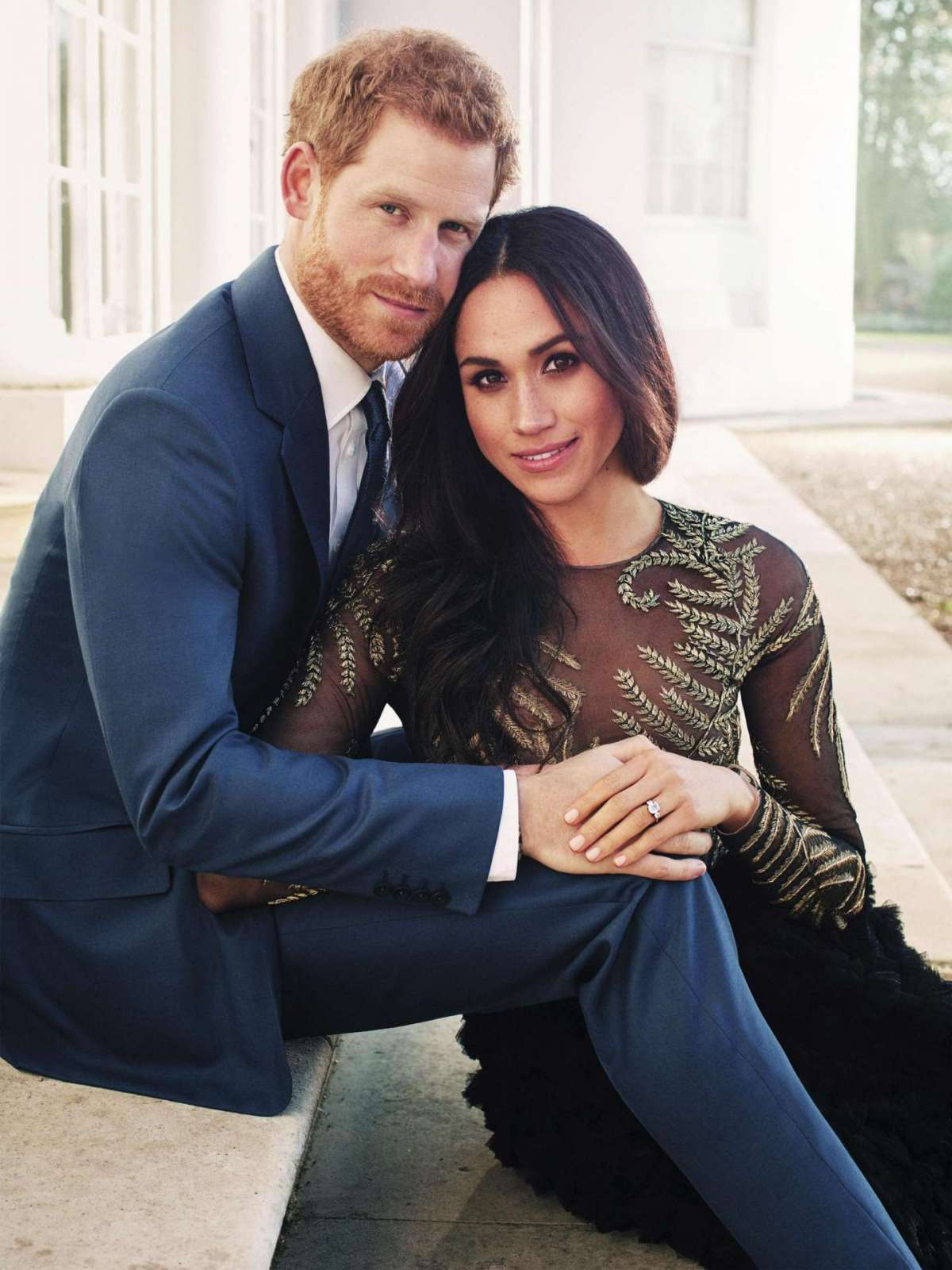 Il principe Harry e Meghan Markle, i ritratti ufficiali del fidanzamento