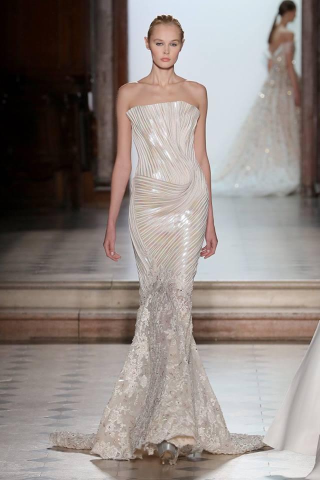 Abito da sposa a sirena Tony Ward haute couture primavera estate 2018