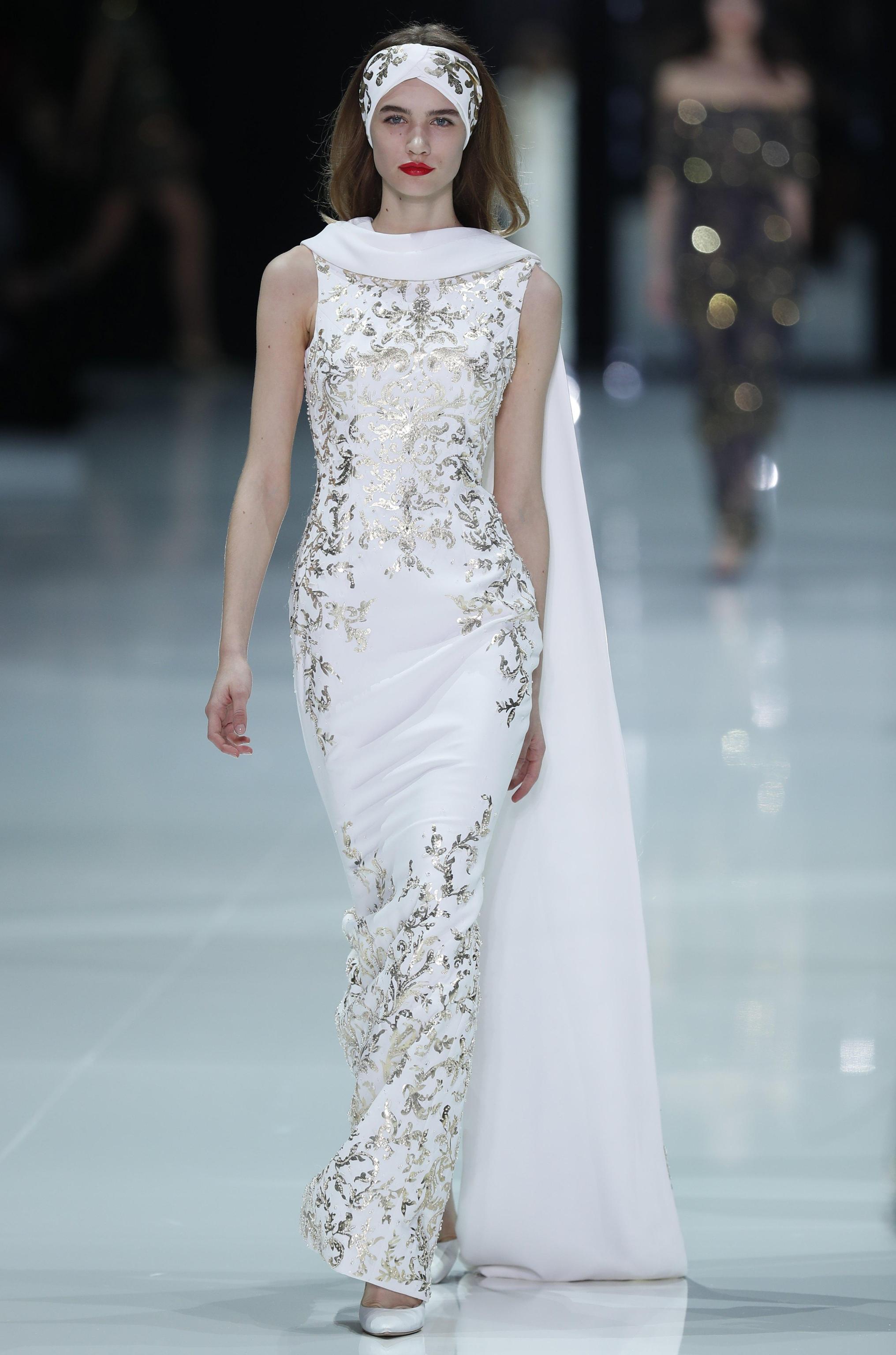 Abito da sposa gioiello Ralph and Russo haute couture primavera estate 2018