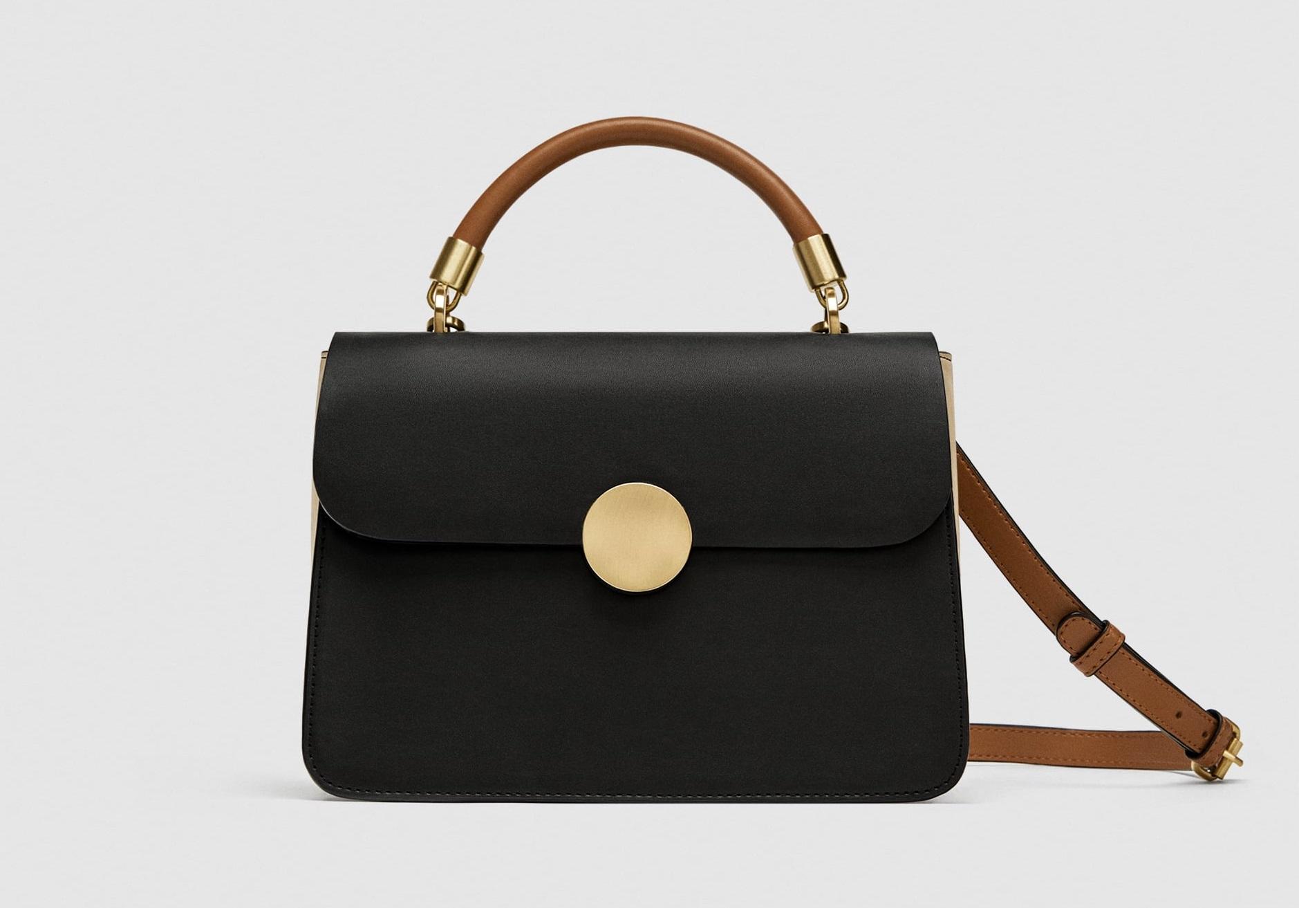 Borsa a mano piccola Zara collezione primavera estate 2018