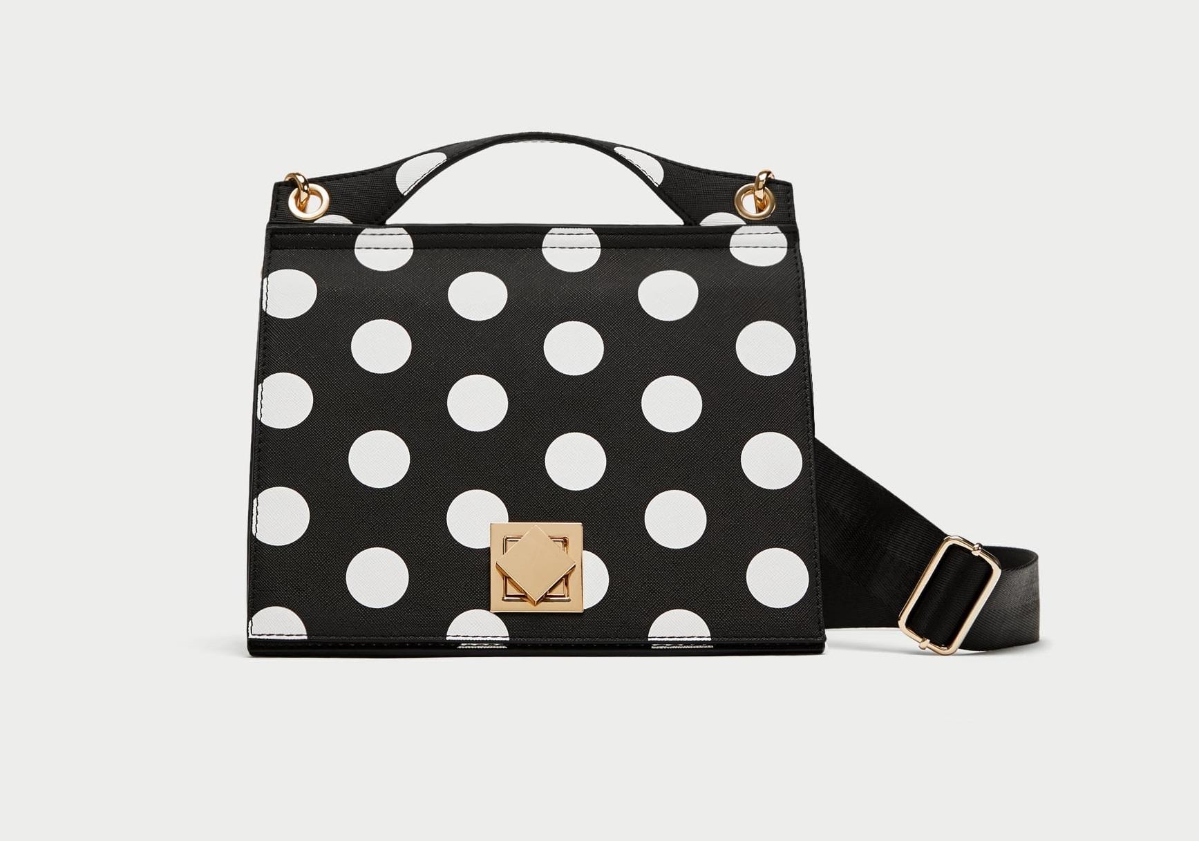 Borsa a pois Zara collezione primavera estate 2018