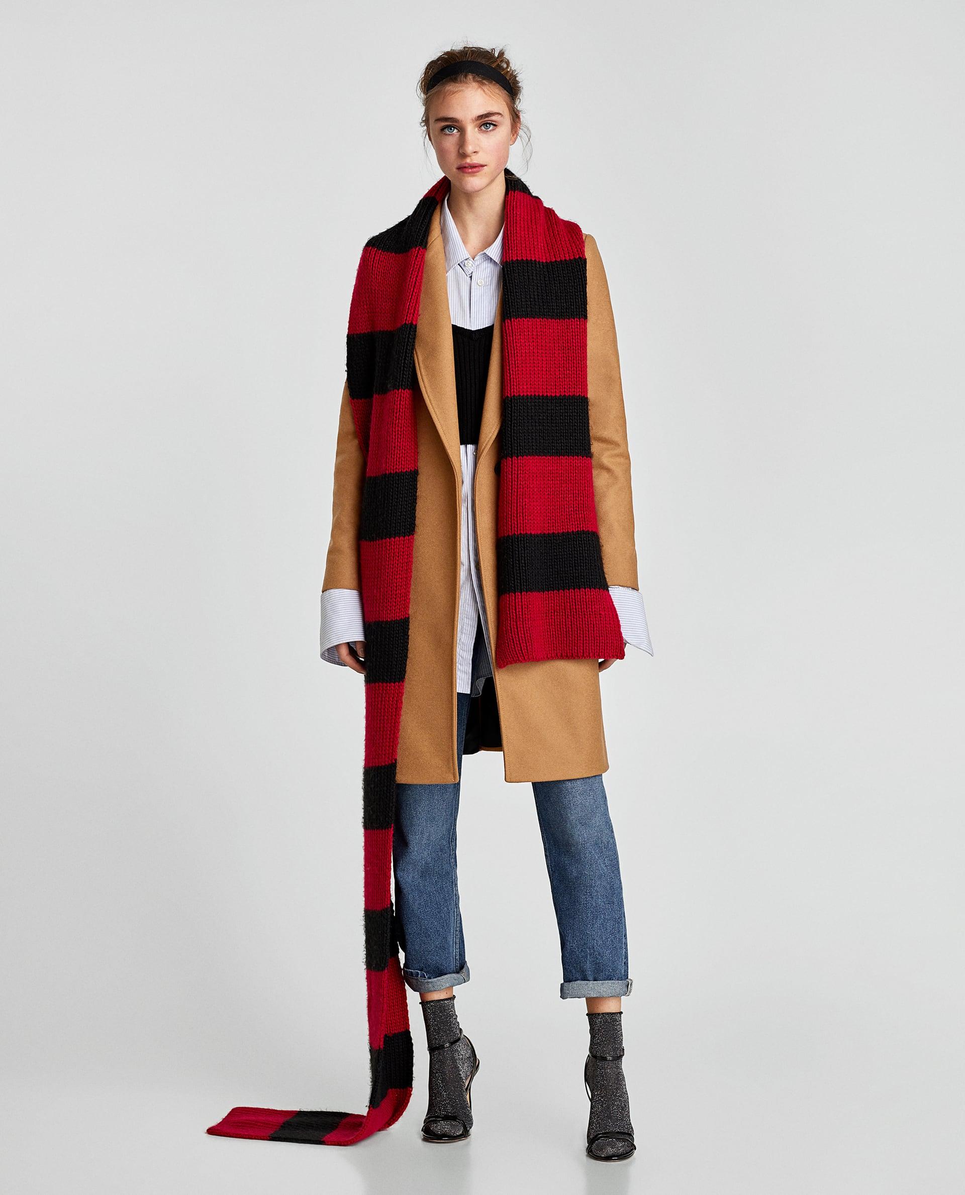 Cappotto cammello Zara in lana saldi 2018