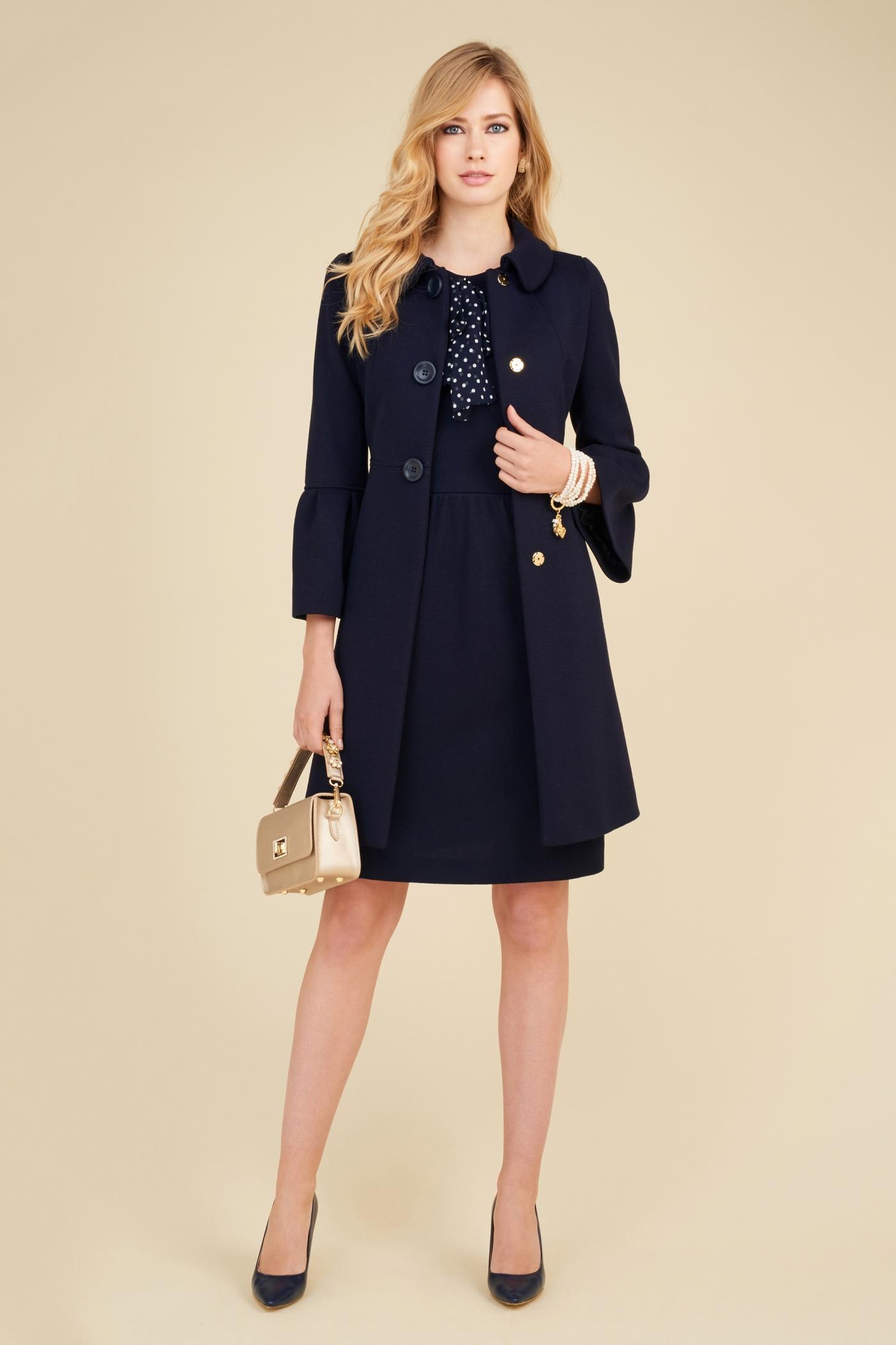 Cappotto con maniche midi Luisa Spagnoli collezione primavera estate 2018