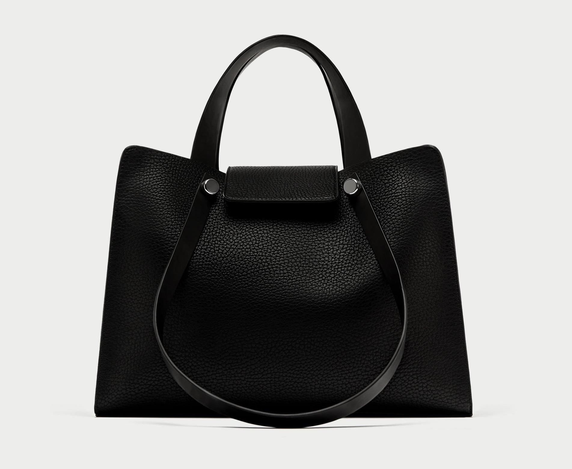 City bag nera Zara collezione primavera estate 2018