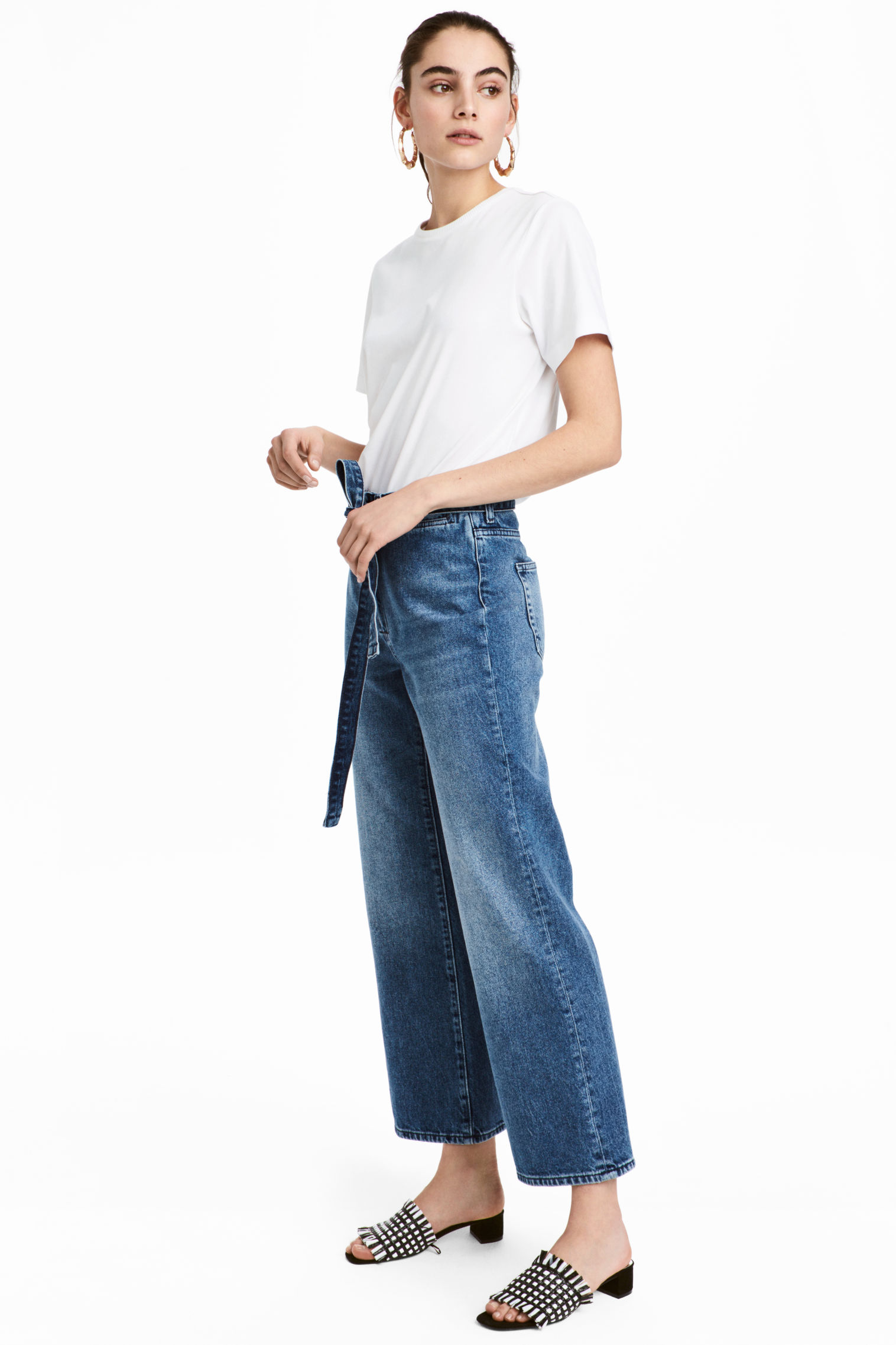 Jeans svasati H&M collezione primavera estate 2018