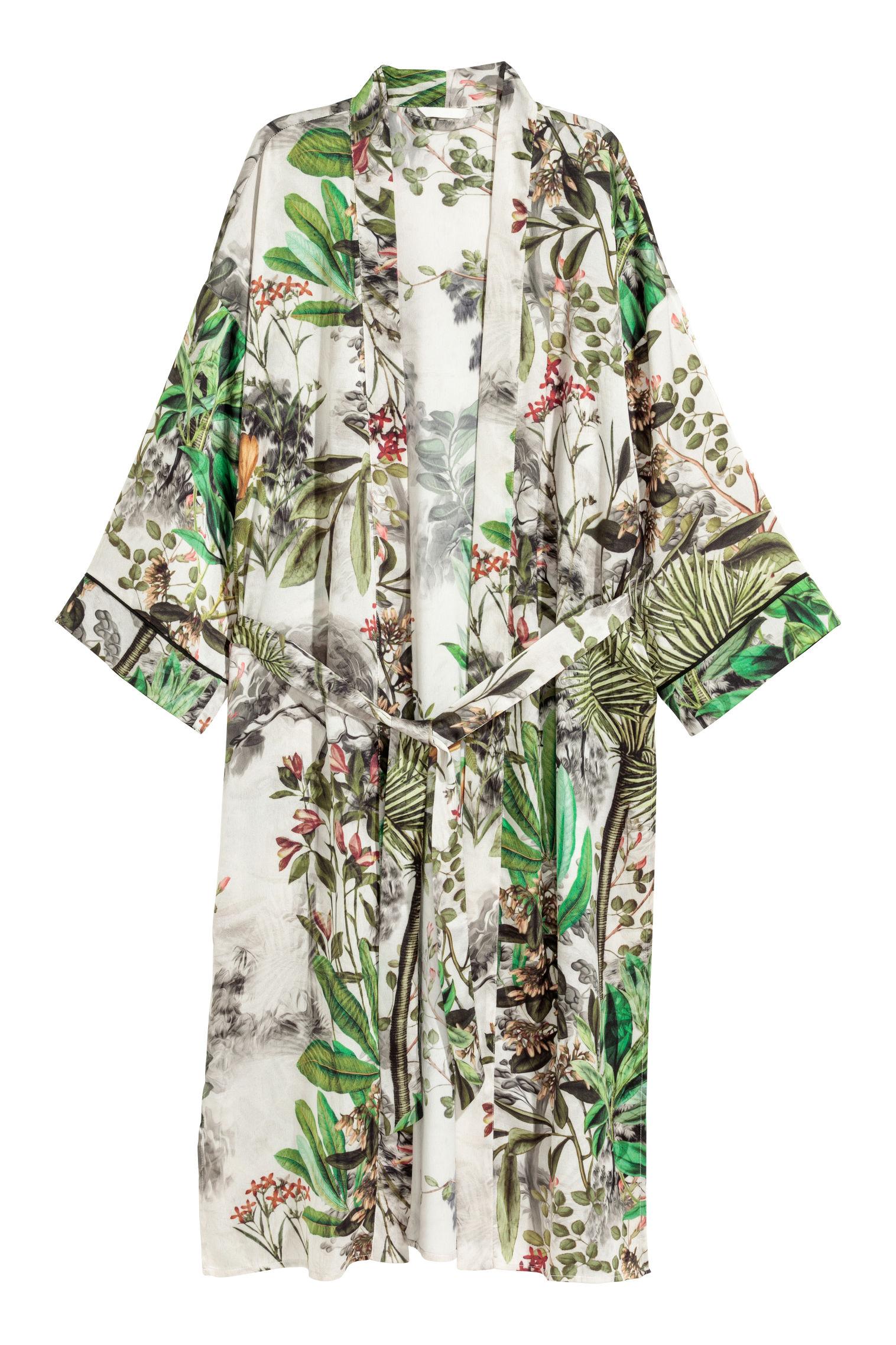 Kimono a fantasia H&M collezione primavera estate 2018