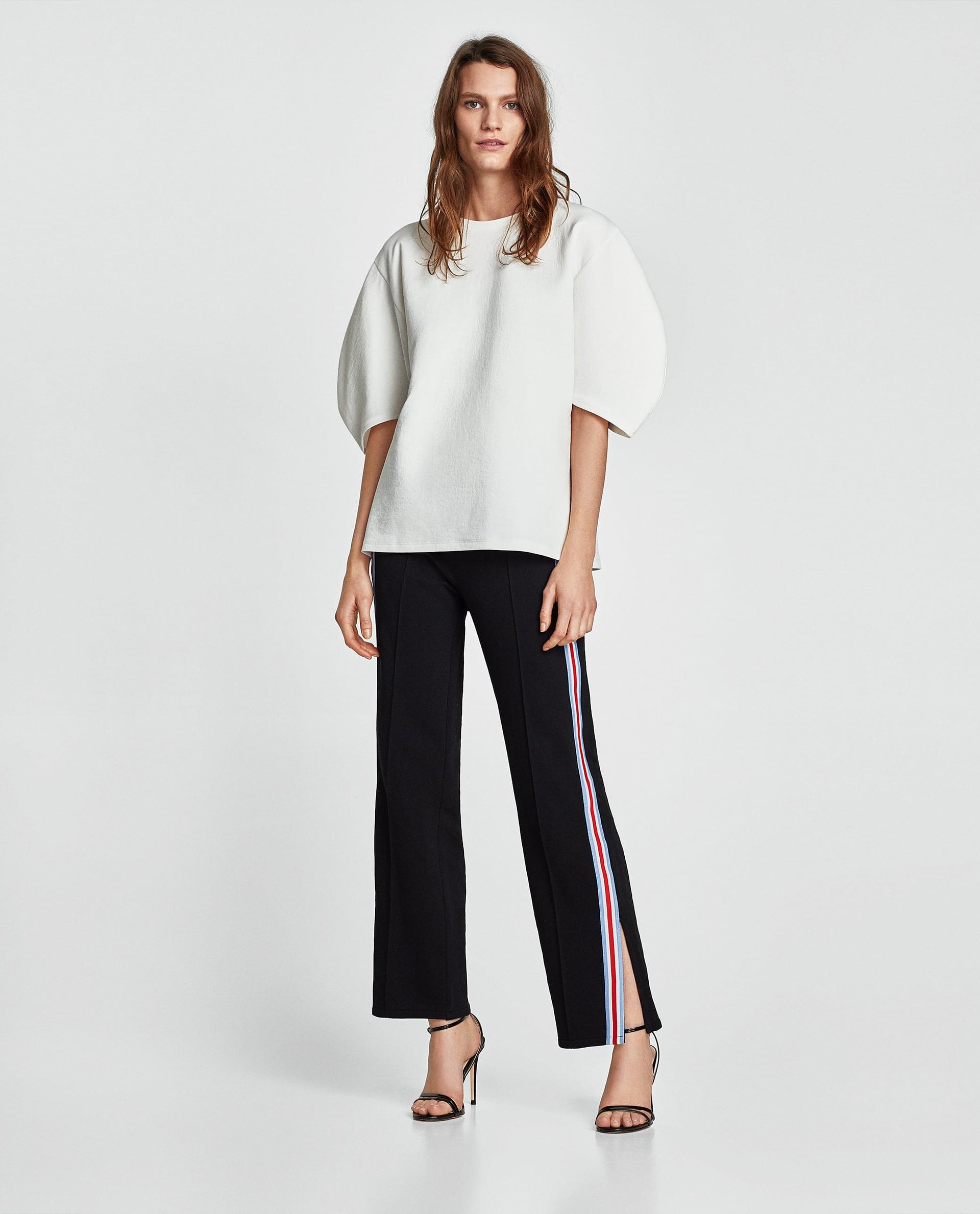 Maglia con maniche larghe Zara collezione primavera estate 2018