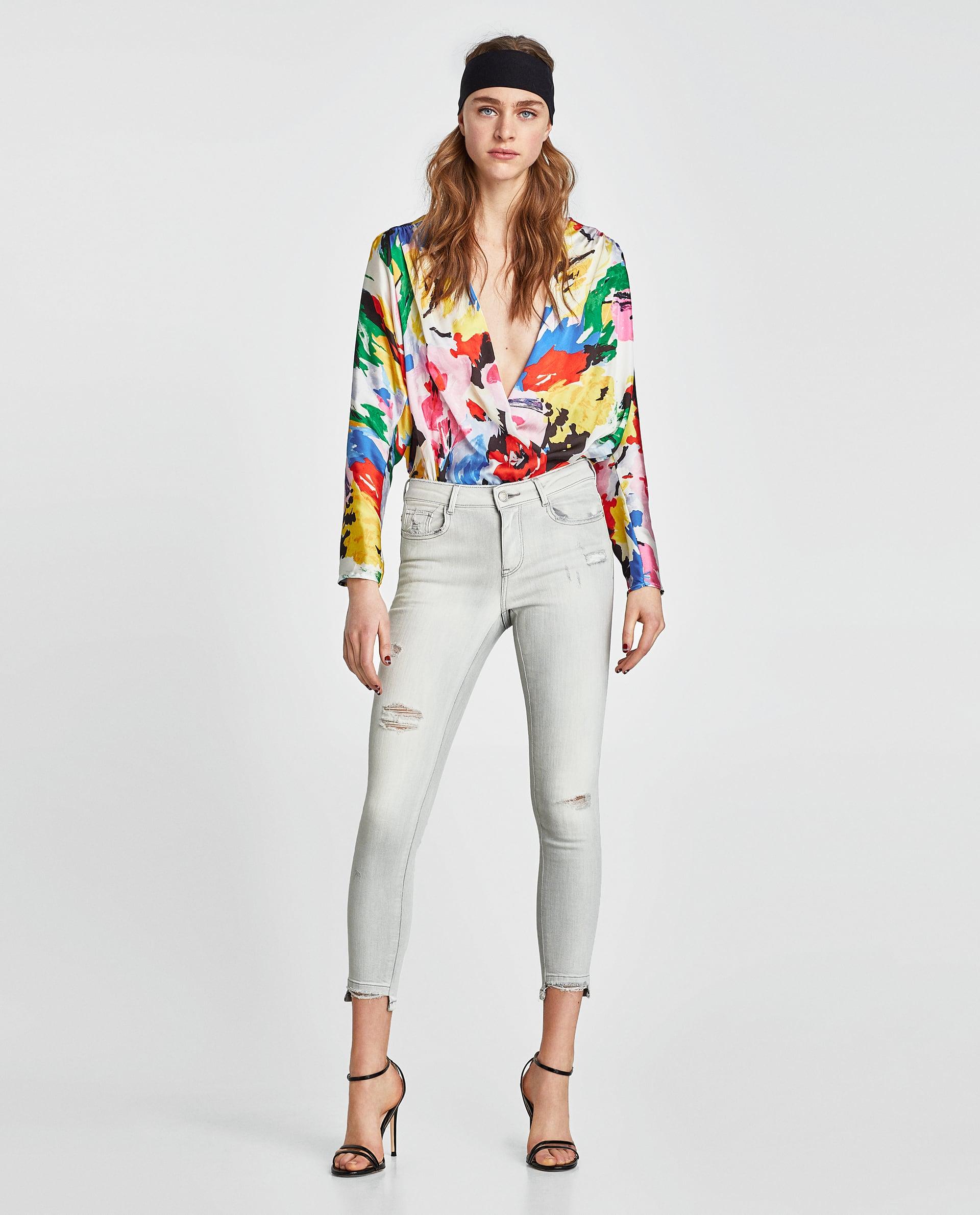 Maglia con stampa multicolor collezione primavera estate 2018