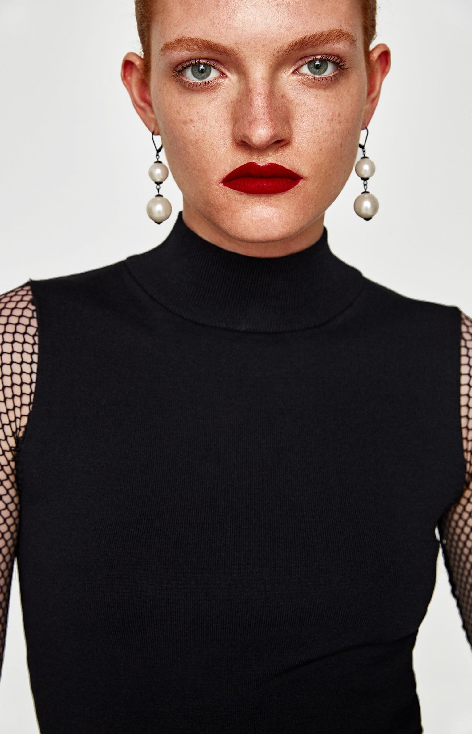 Orecchini con perle Zara