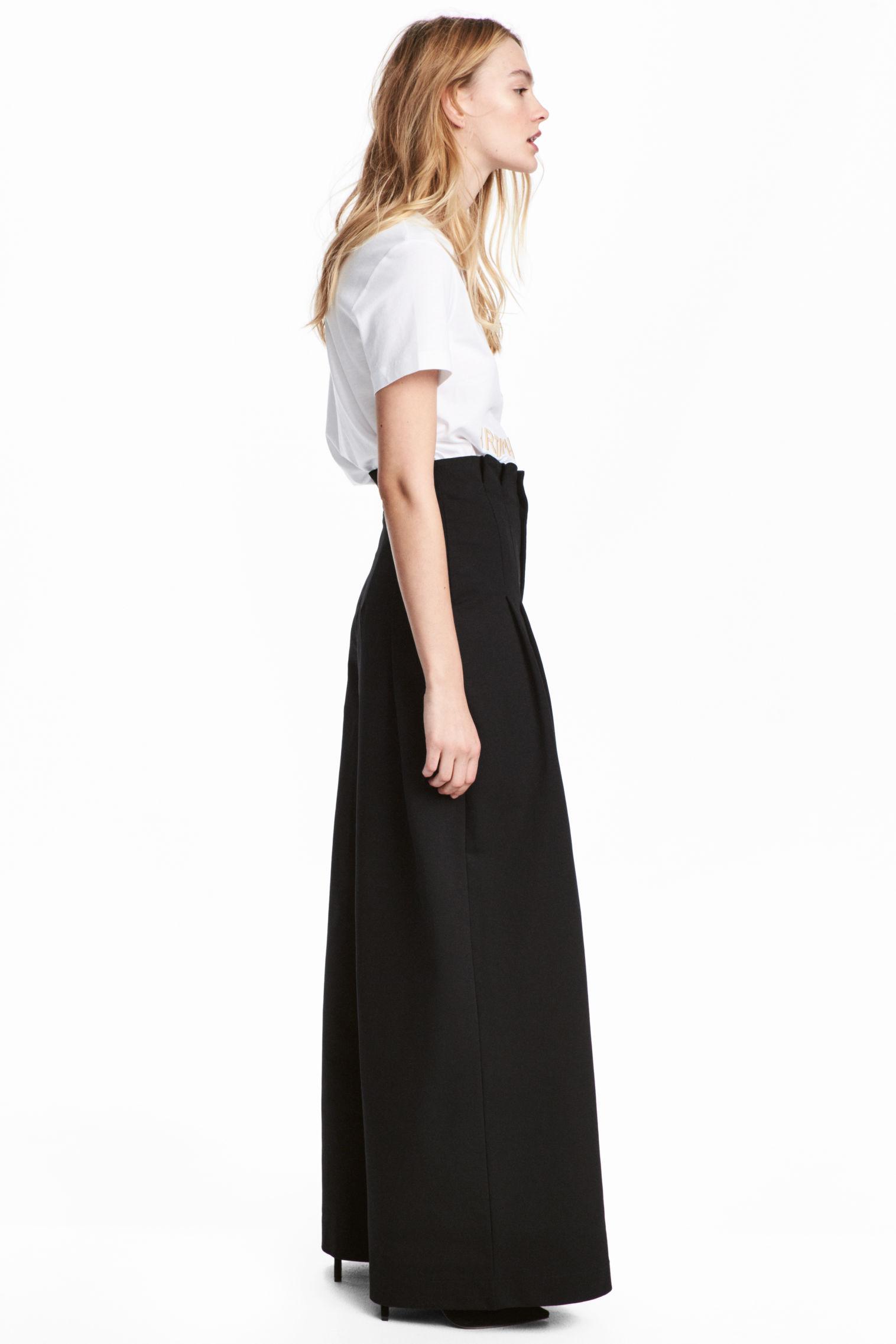 Pantaloni ampi H&M collezione primavera estate 2018