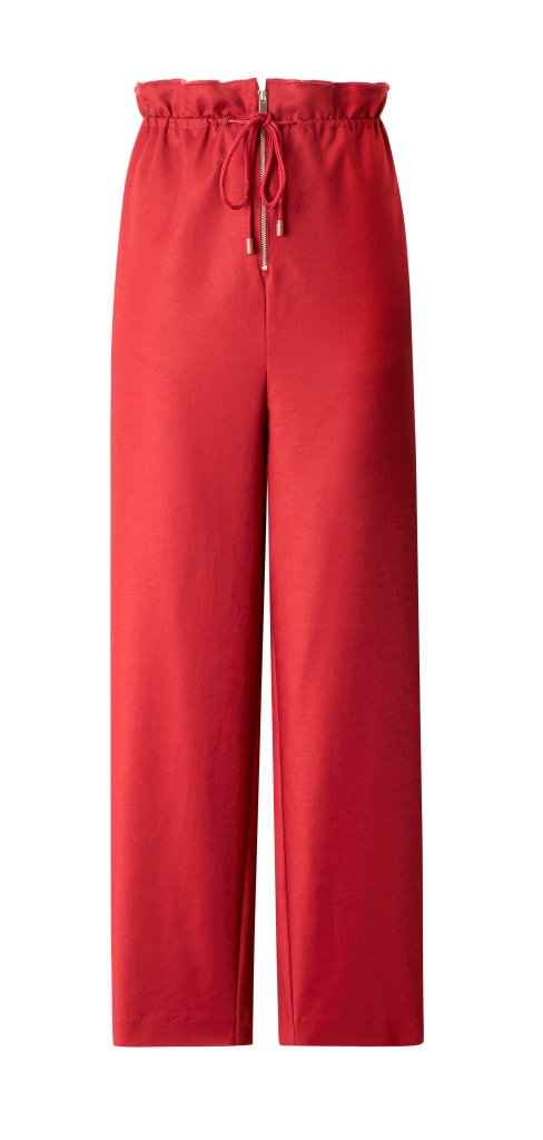 Pantaloni con vita paper bag Mango collezione primavera estate 2018