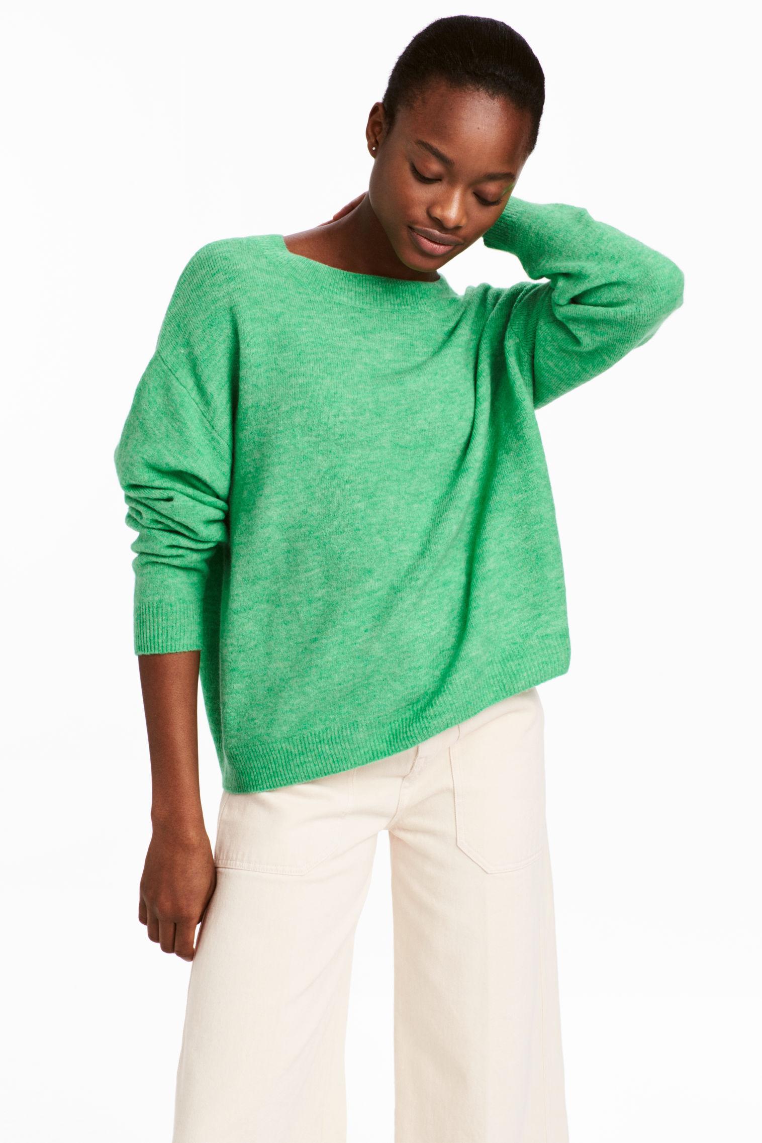 Pullover in maglia fine H&M collezione primavera estate 2018