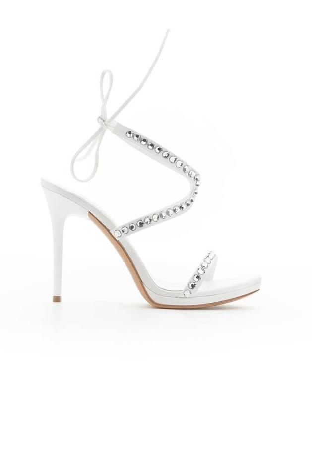 Sandali gioiello con tacco Albano collezione 2018