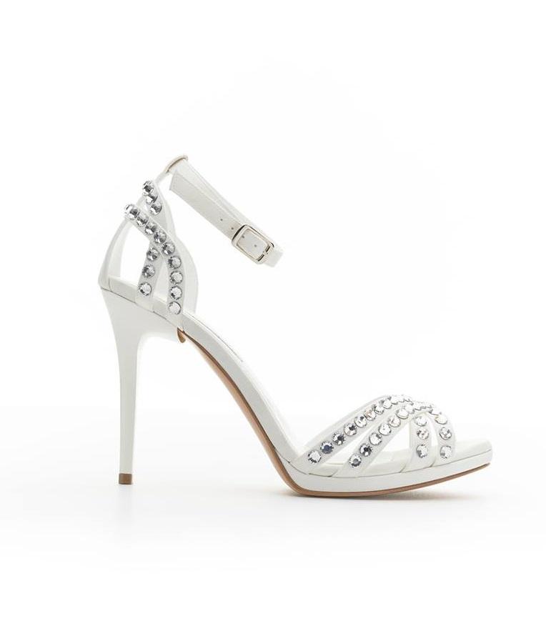 Scarpe da sposa gioiello Albano collezione 2018