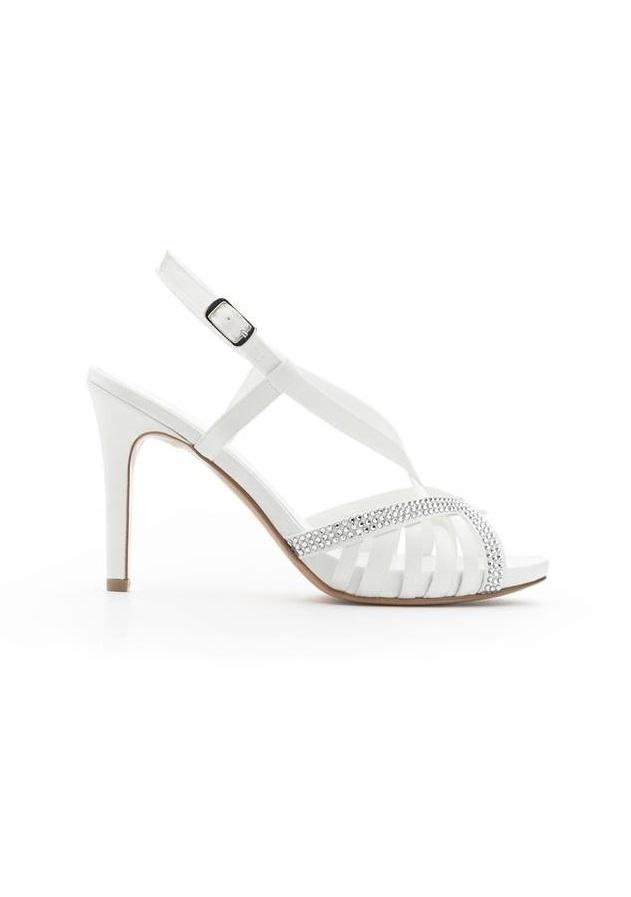 Scarpe gioiello da sposa Albano collezione 2018
