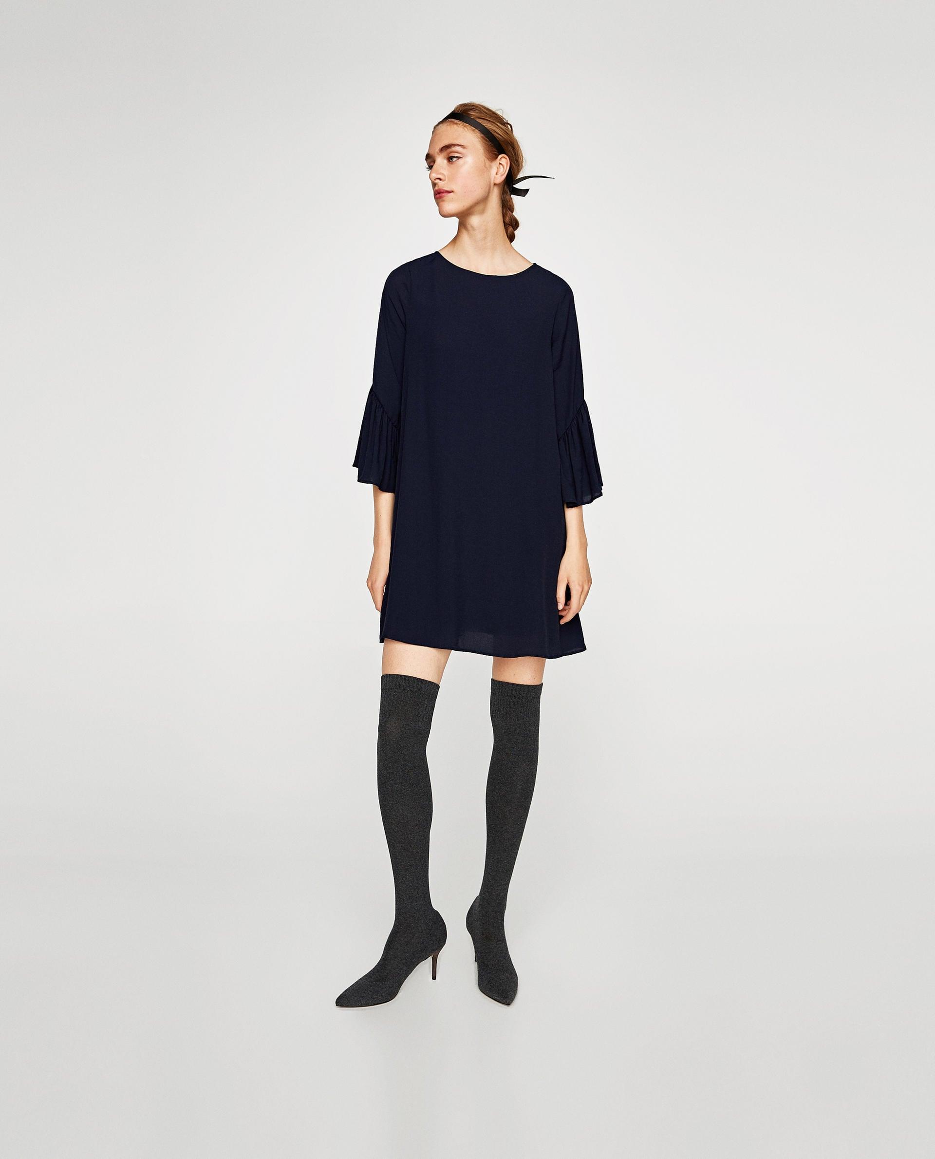 Stivali cuissard Zara al ginocchio saldi invernali 2018