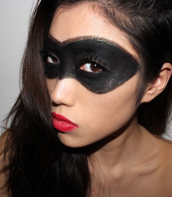 Trucco occhi carnevale maschera