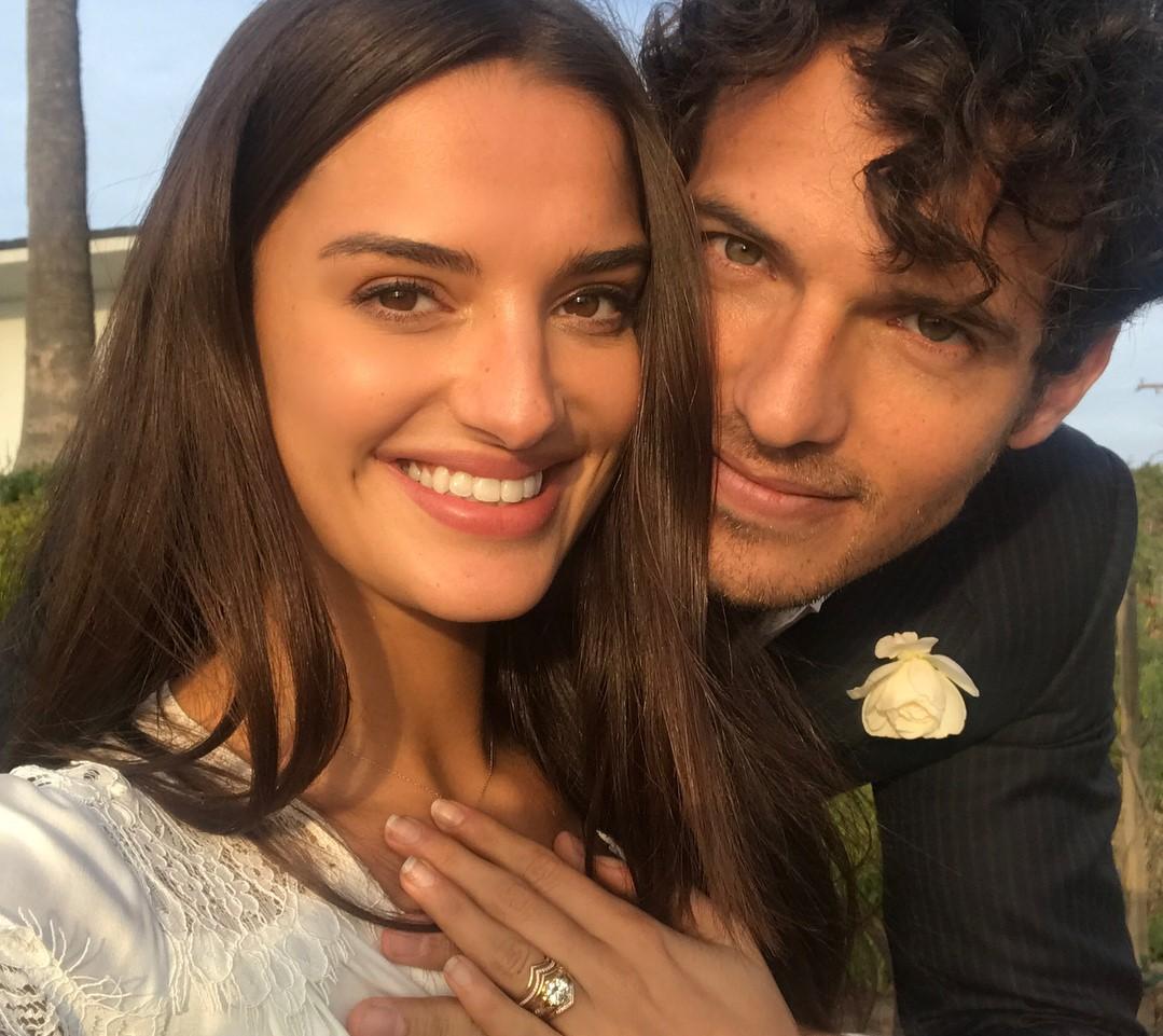 L'ex fidanzato e socio di Chiara Ferragni Riccardo Pozzoli si è sposato con Gabrielle Caunesil