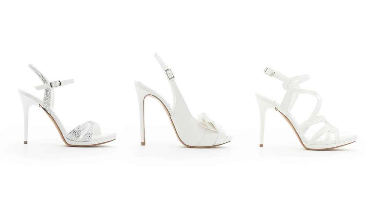 buy popular 2477b 43c02 Scarpe da sposa Albano 2018: la nuova collezione | Pourfemme