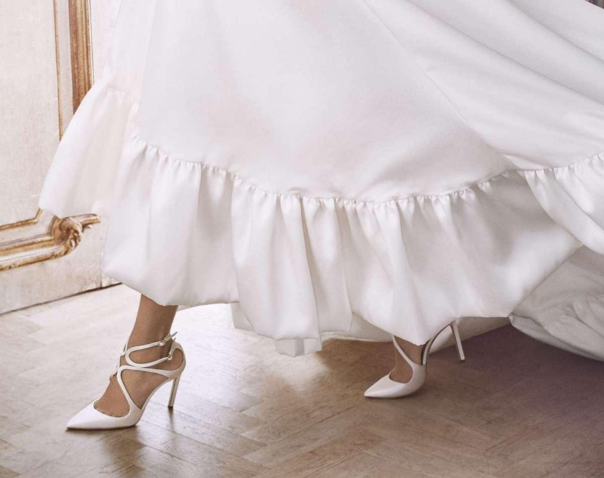 buy online 9d878 ec3cc Scarpe da sposa Jimmy Choo 2018: la nuova collezione | Pourfemme