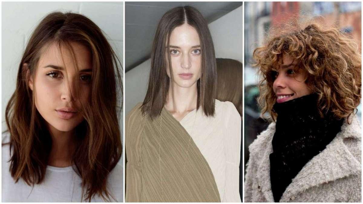 Immagini di tagli di capelli medio lunghi