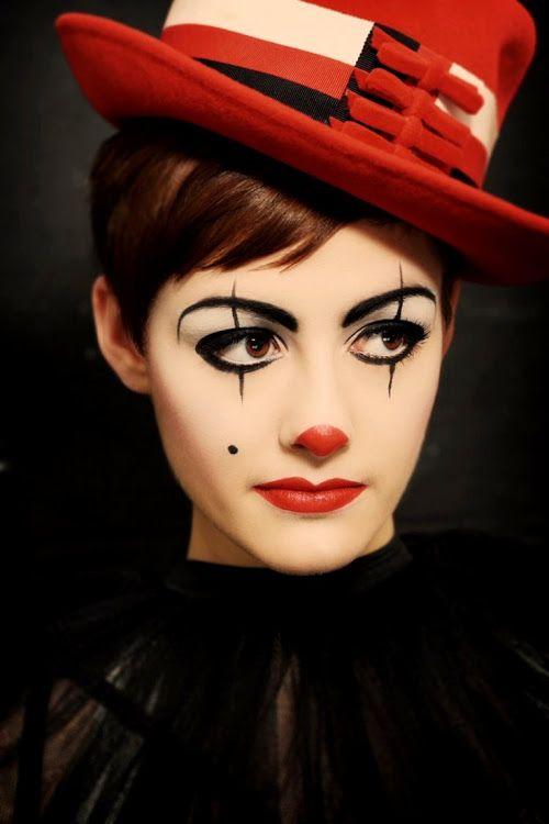 trucco carnevale viso clown