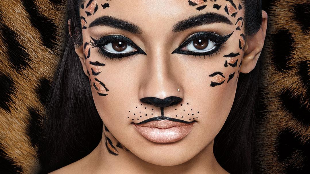 trucco occhi gatta carnevale felino