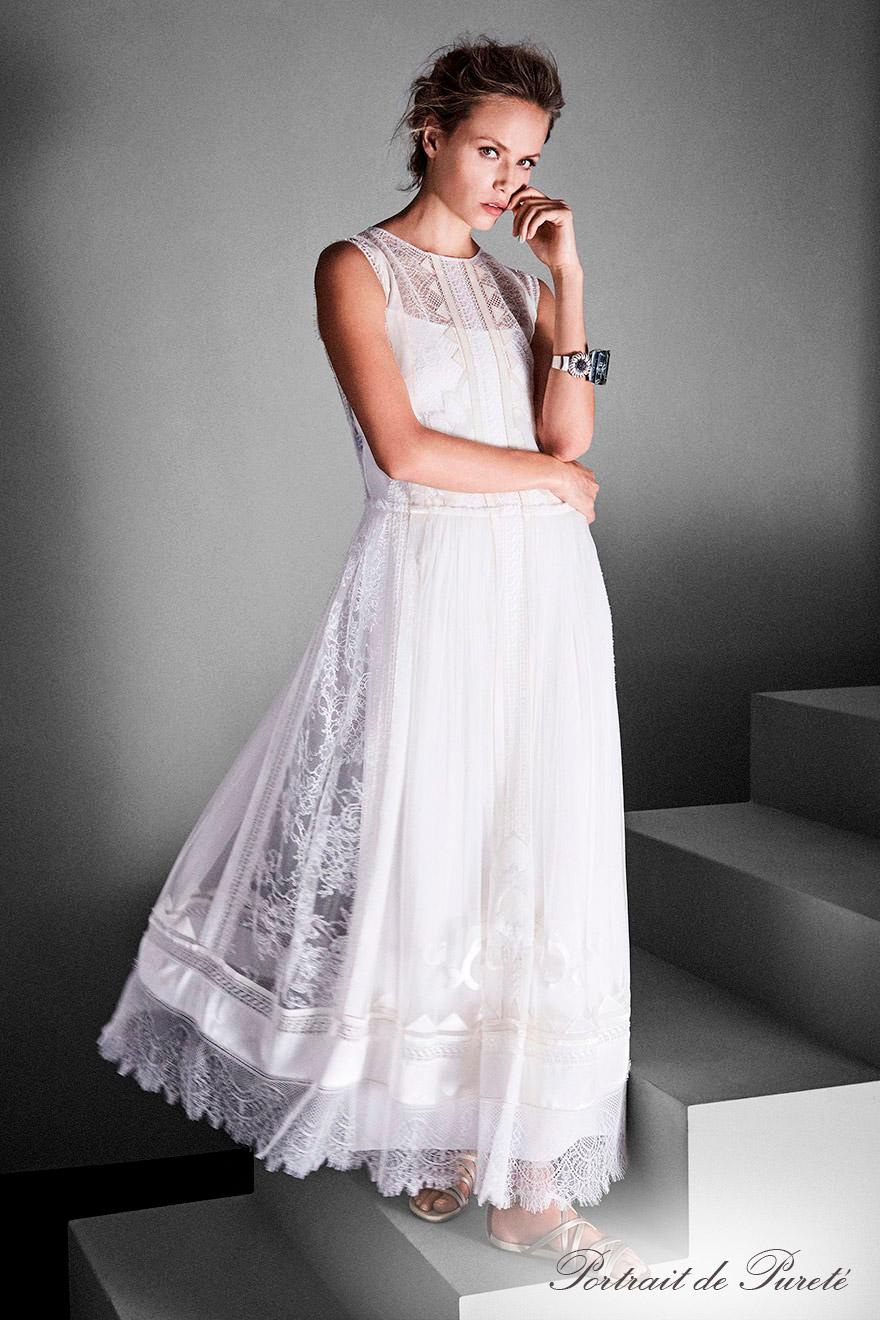 Abito da sposa in pizzo Alberta Ferretti Limited Edition