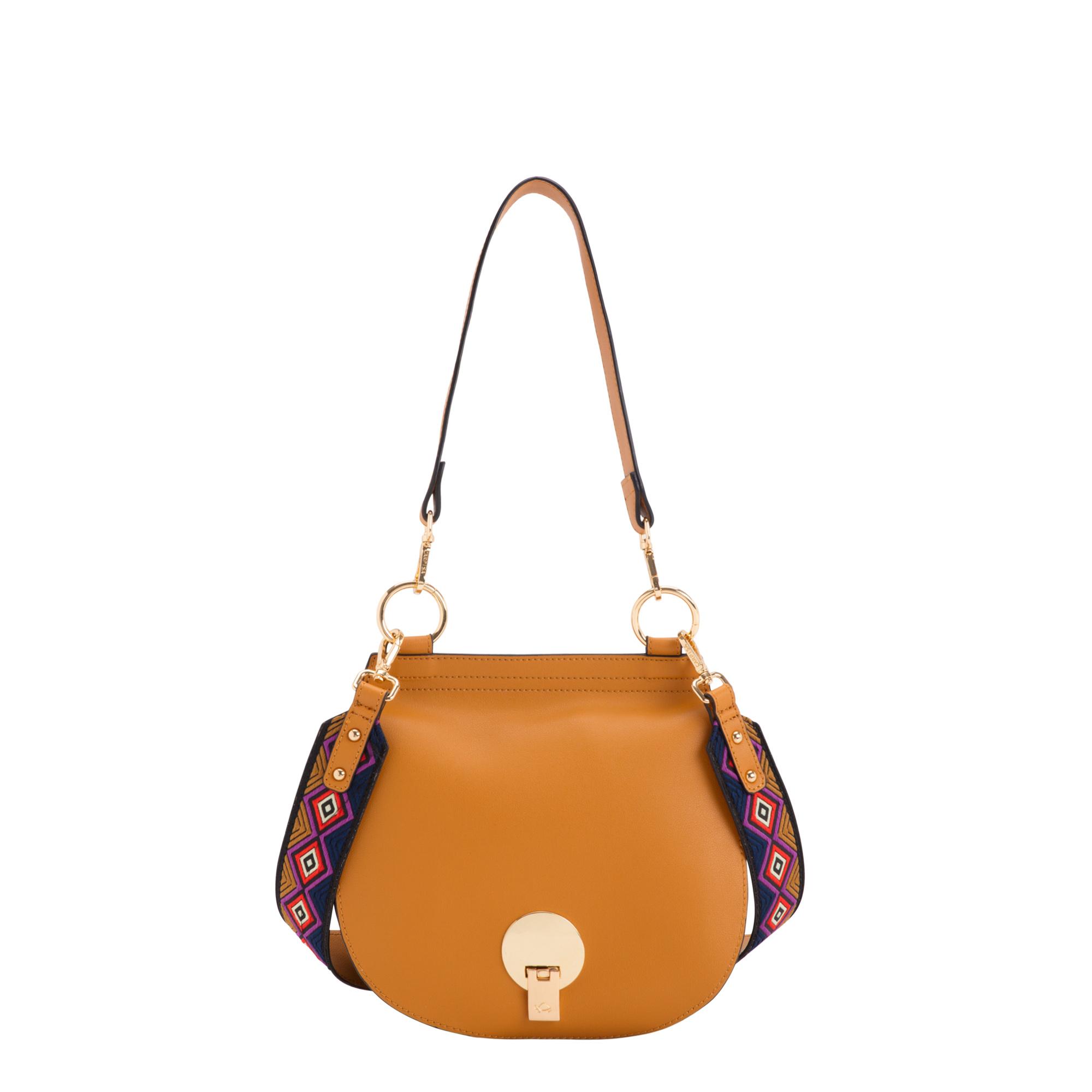 Carpisa, borsa con tracolla decorata