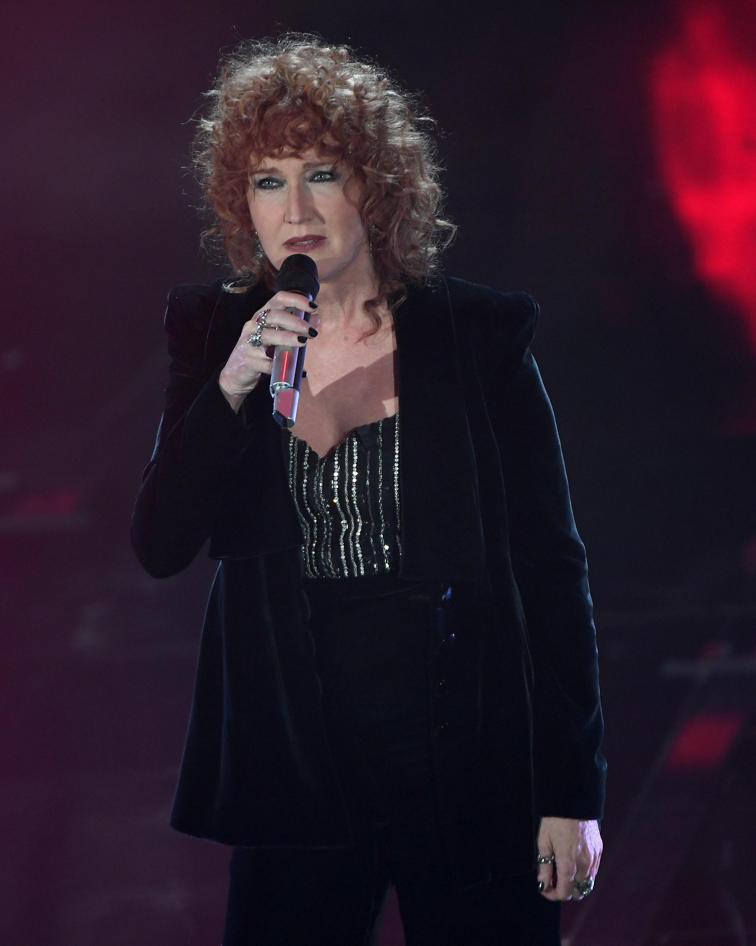Fiorella Mannoia a Sanremo 2018