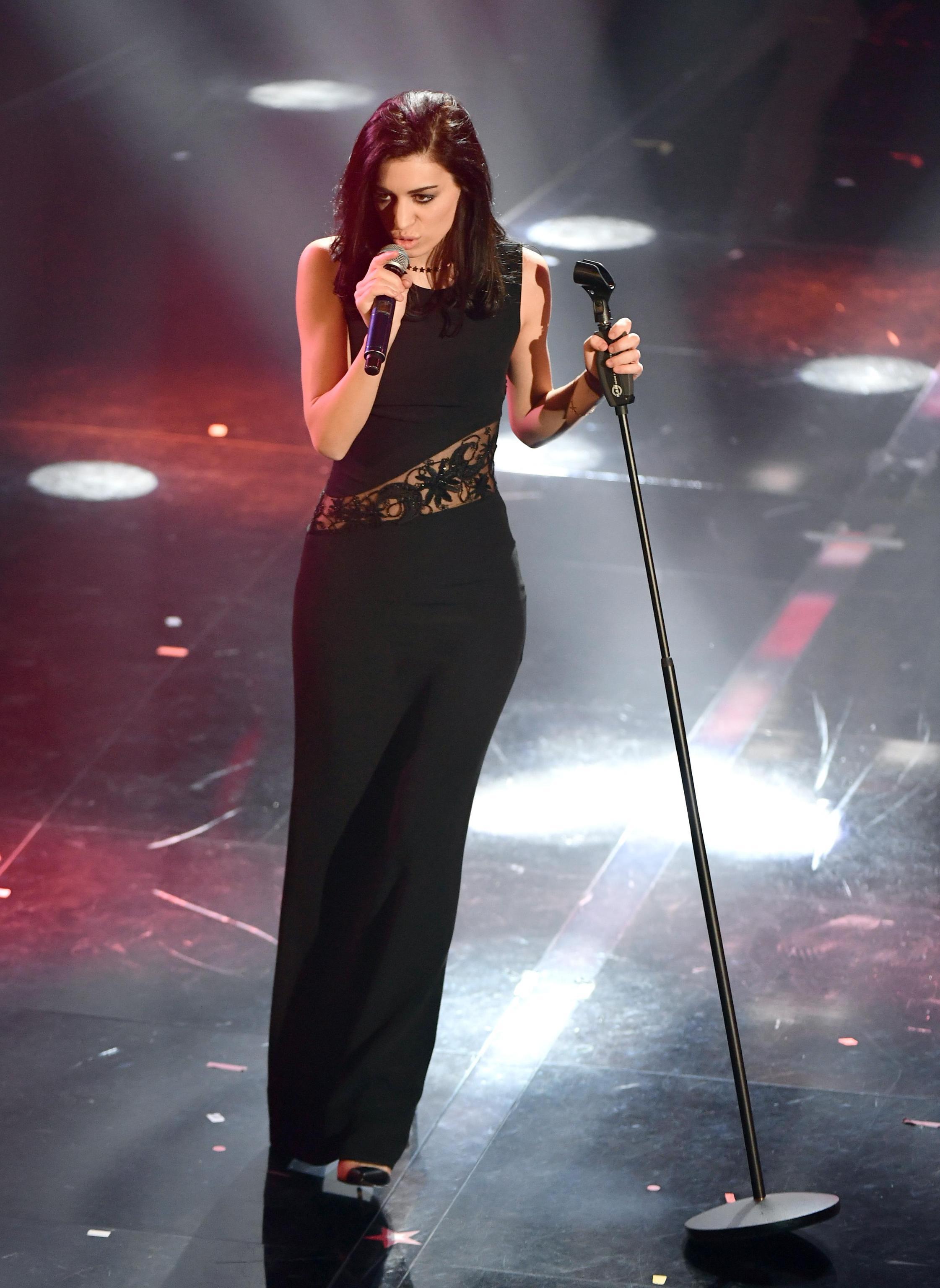 Giulia Casieri look Sanremo 2018