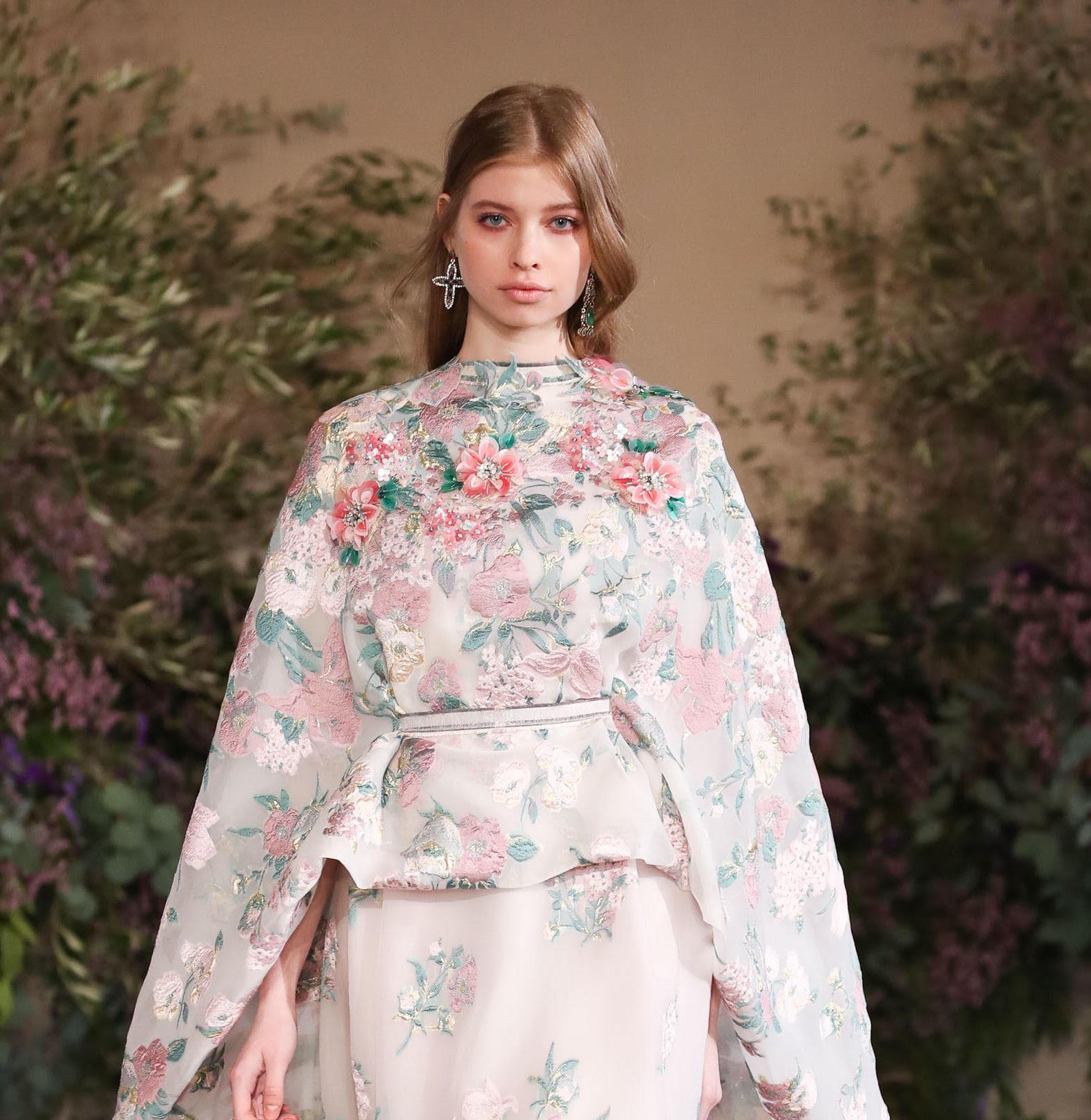 Il beauty look delicato di Luisa Beccaria