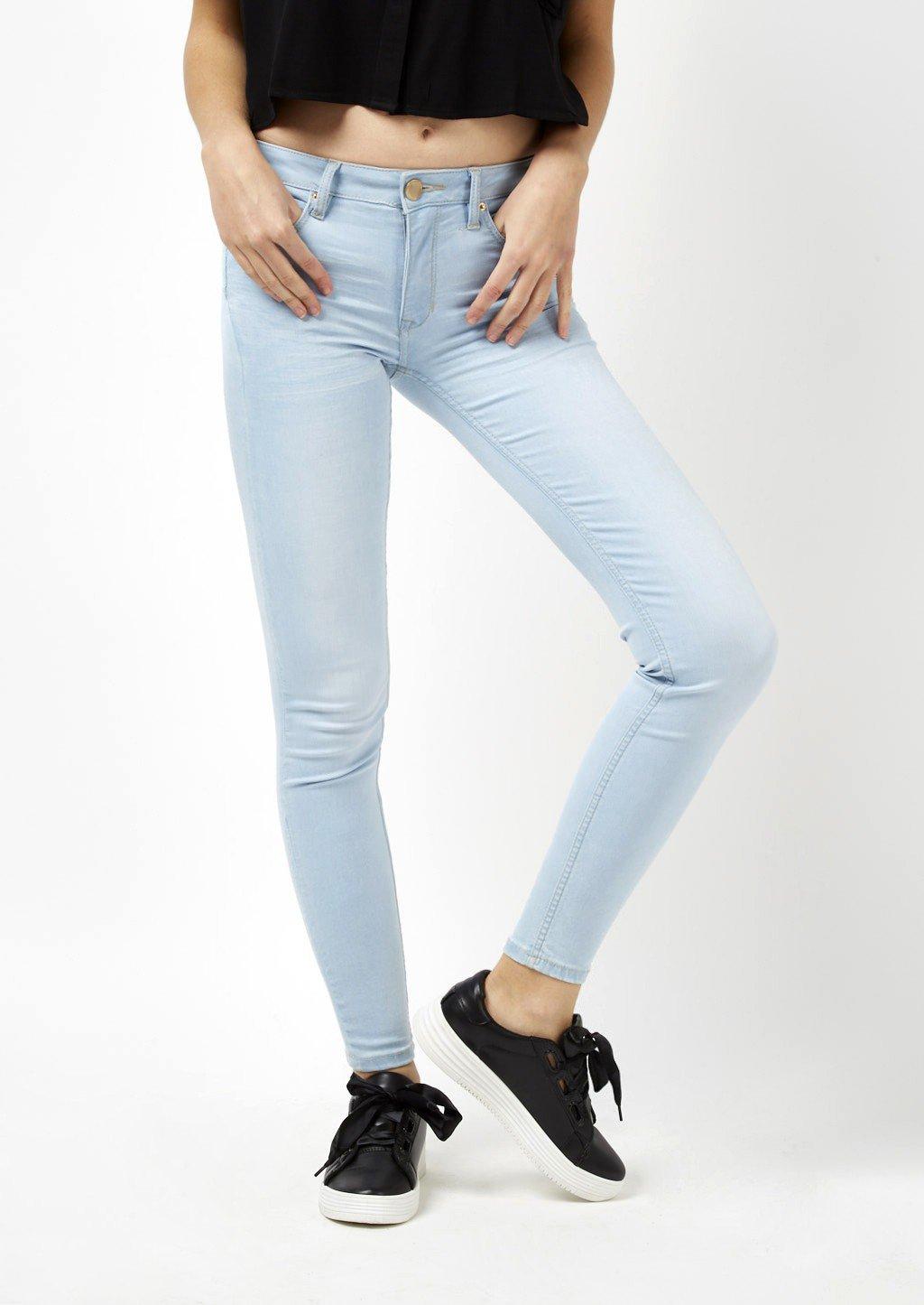 Jeans push up Alcott in denim chiaro catalogo 2018