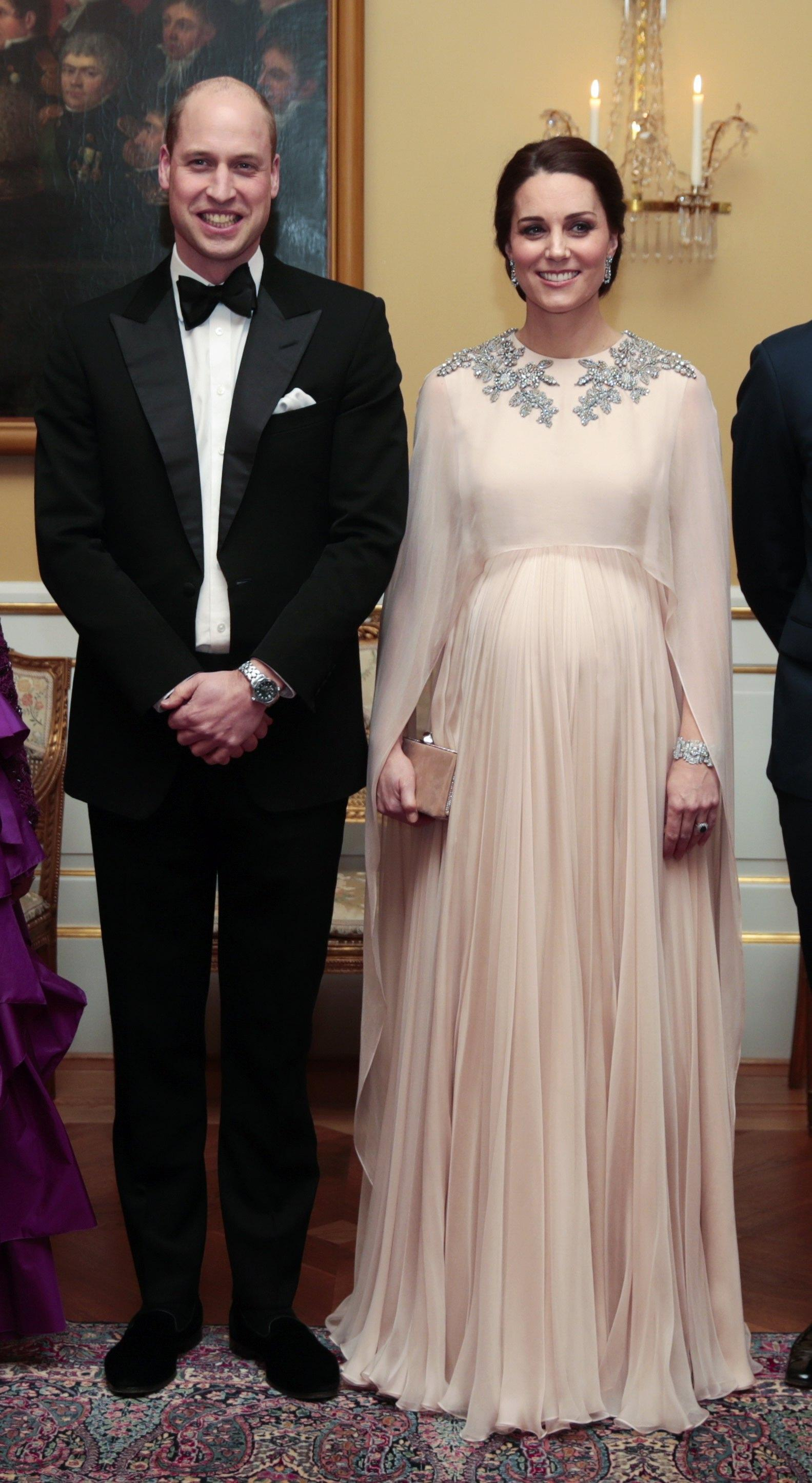 Duke and Duchess of Cambridge visit Norway