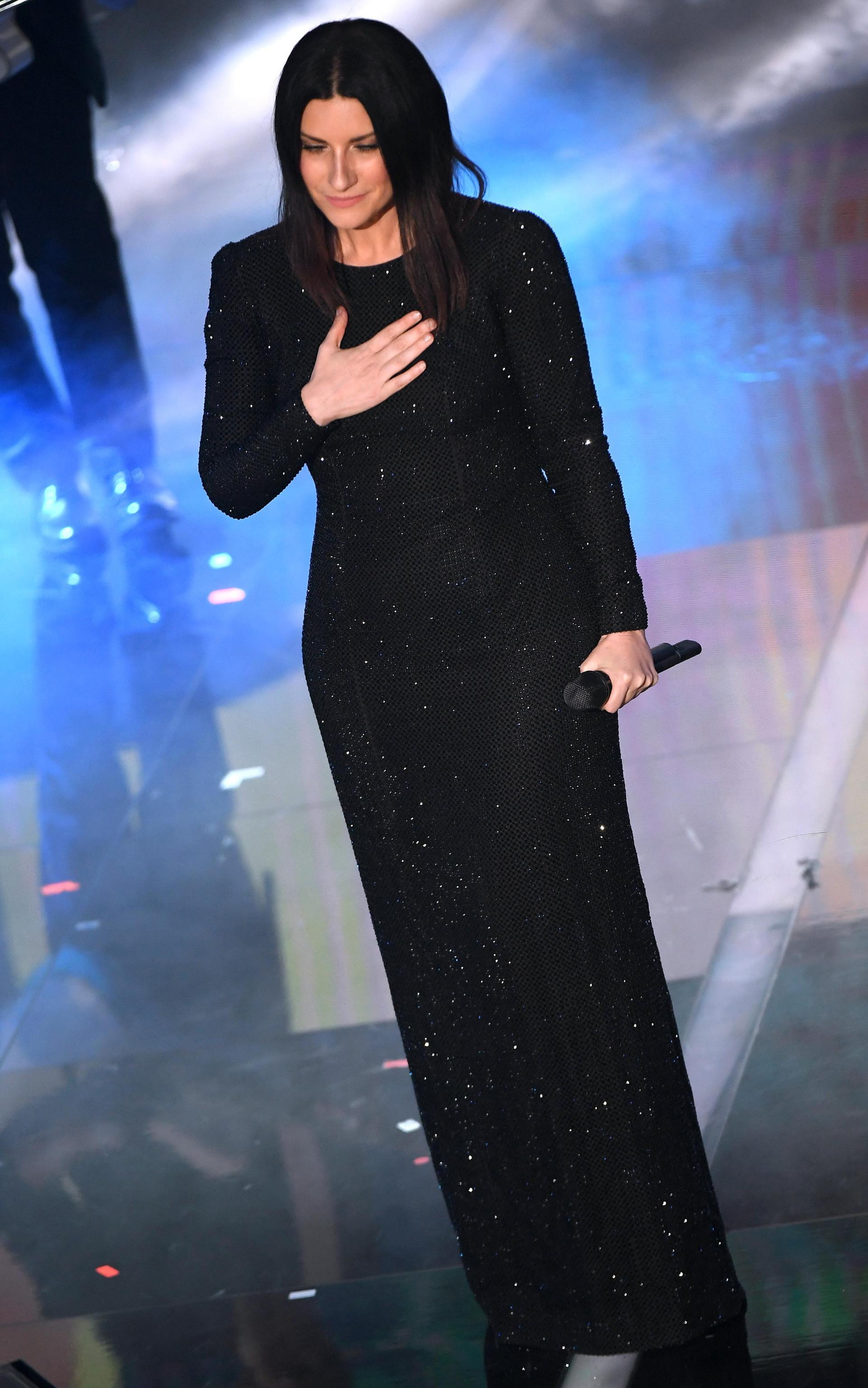 Laura Pausini a Sanremo 2018