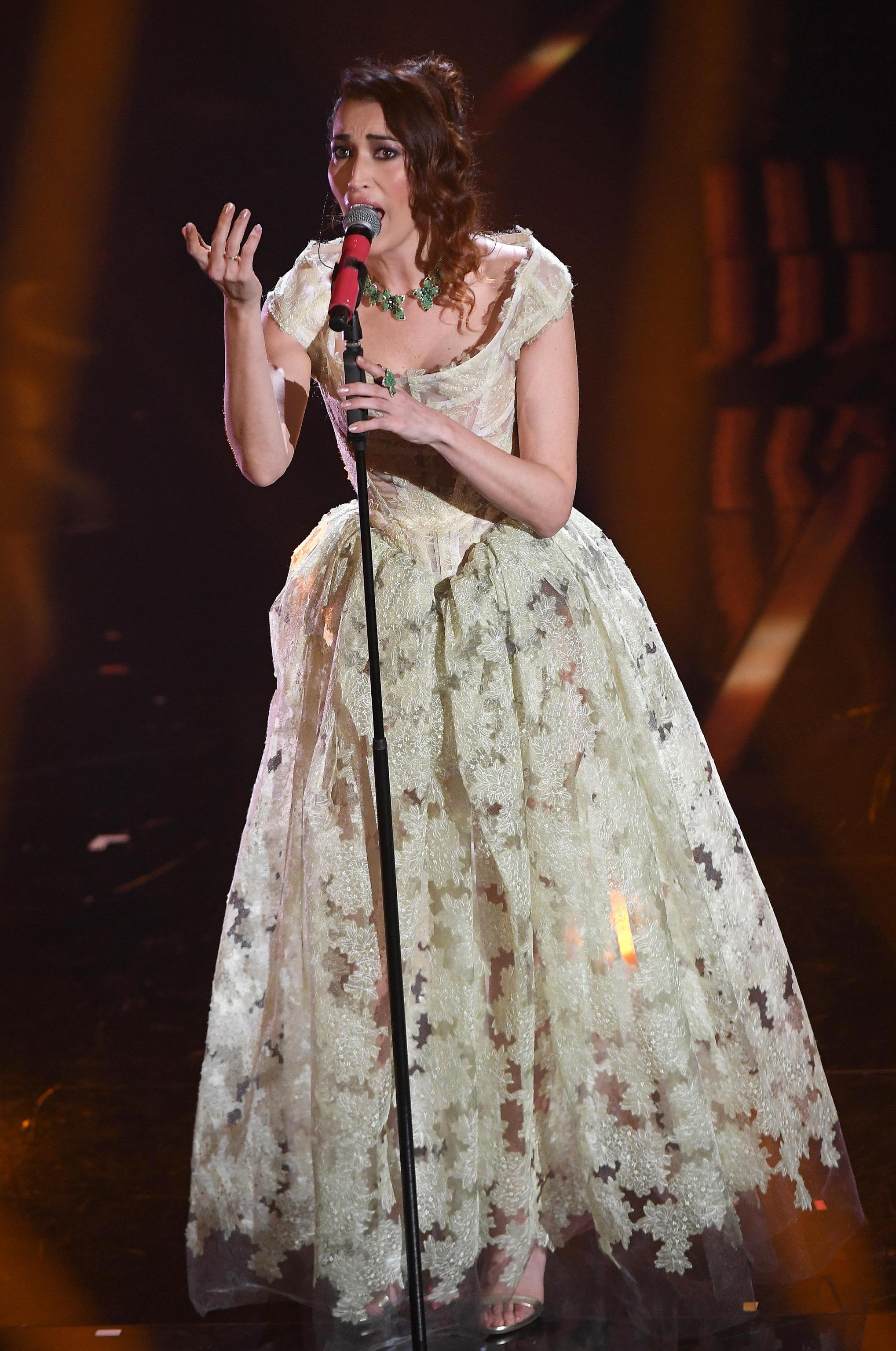 Nina Zilli, l'abito Vivienne Westwood per la finale