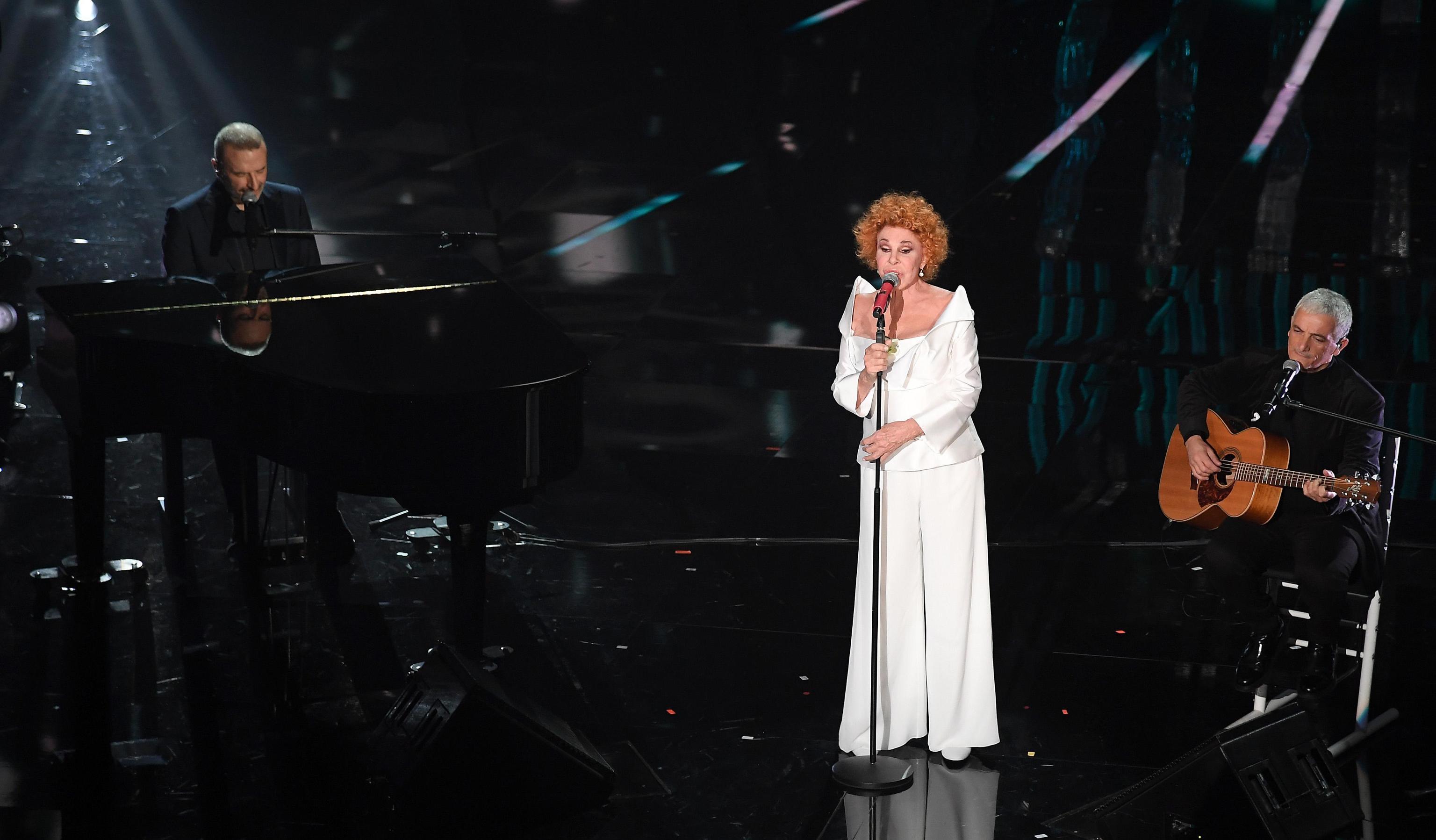 Ornella Vanoni veste Antonio Riva a Sanremo 2018