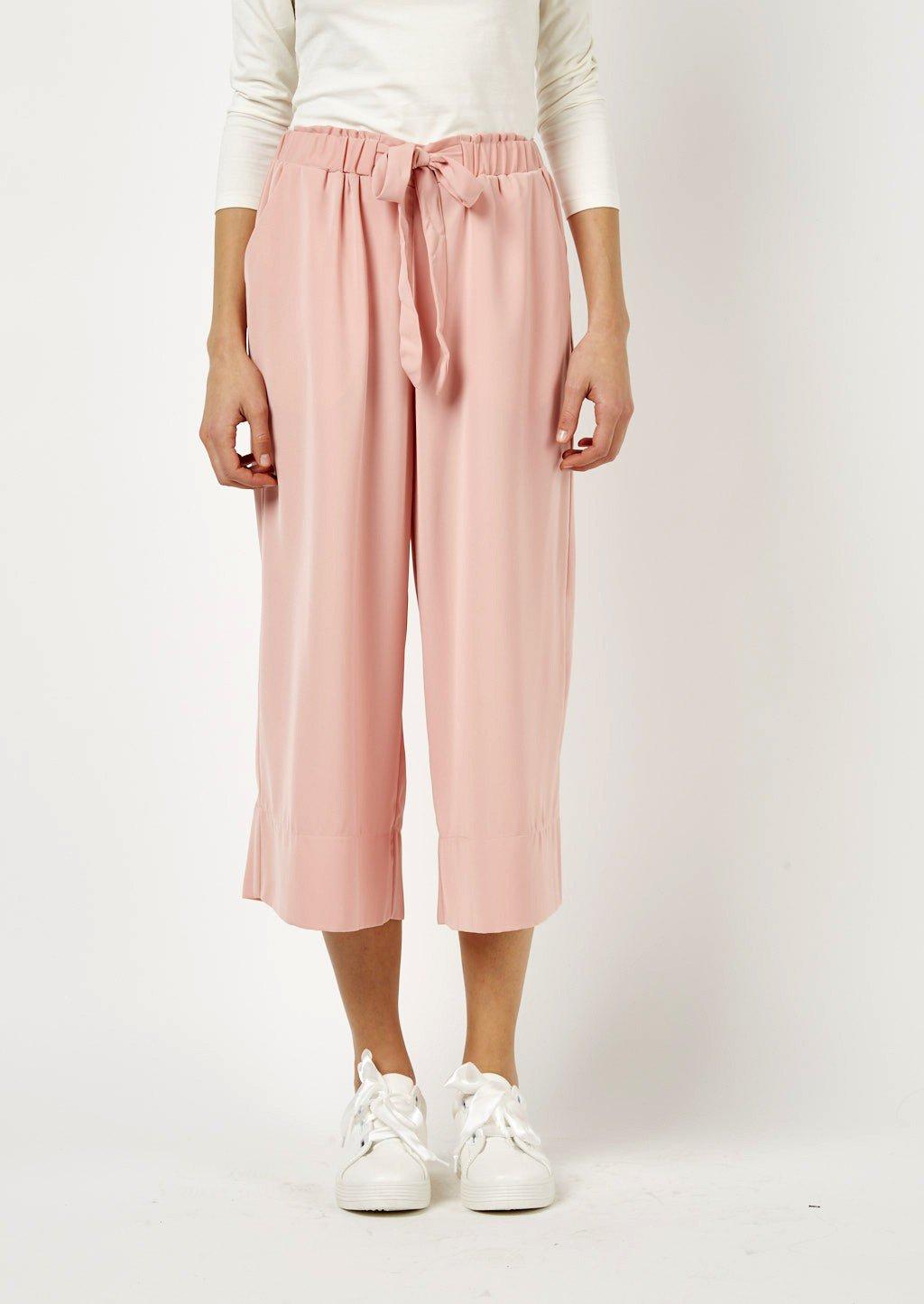 Pantaloni culotte rosa Alcott catalogo 2018