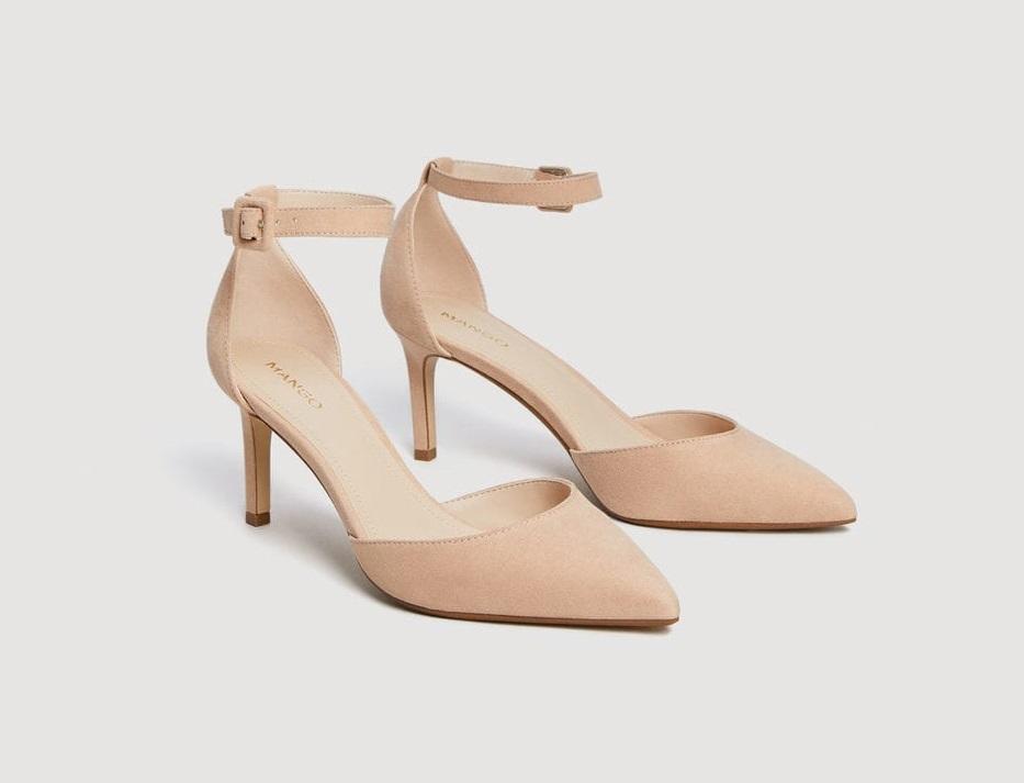 Scarpe con cavigliera Mango collezione primavera estate 2018