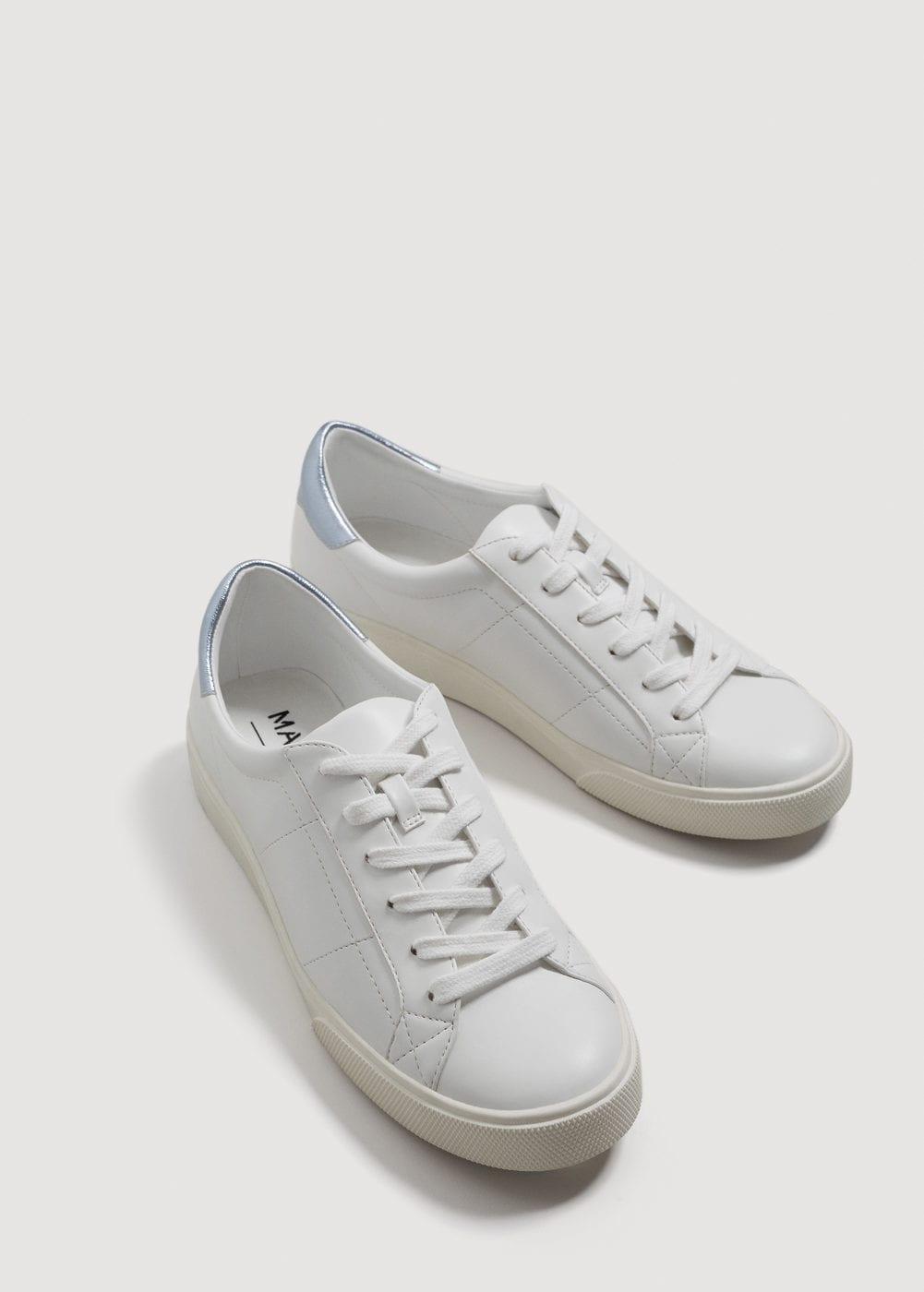 Sneakers bianche Mango collezione primavera estate 2018