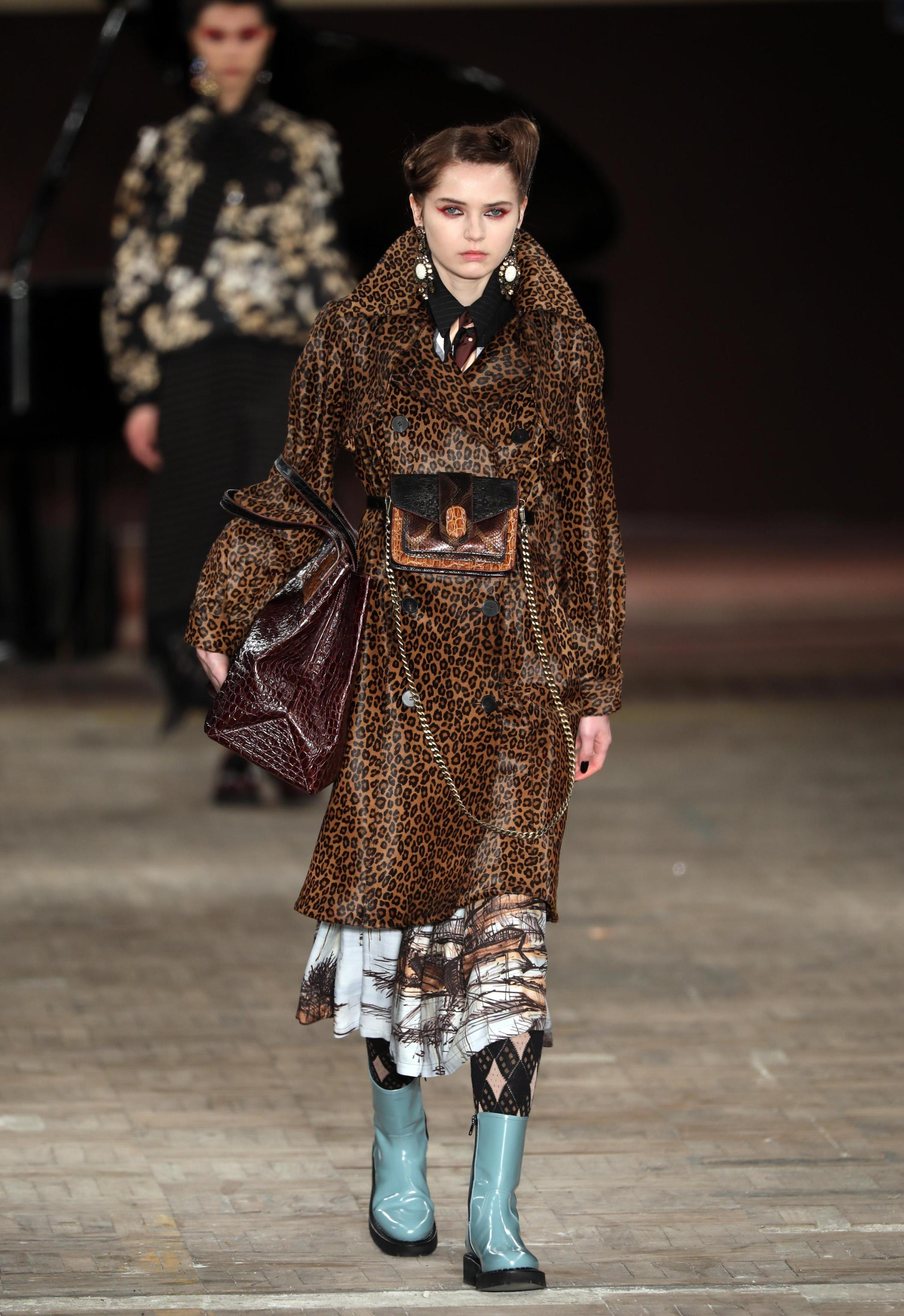Cappotto animalier Antonio Marras
