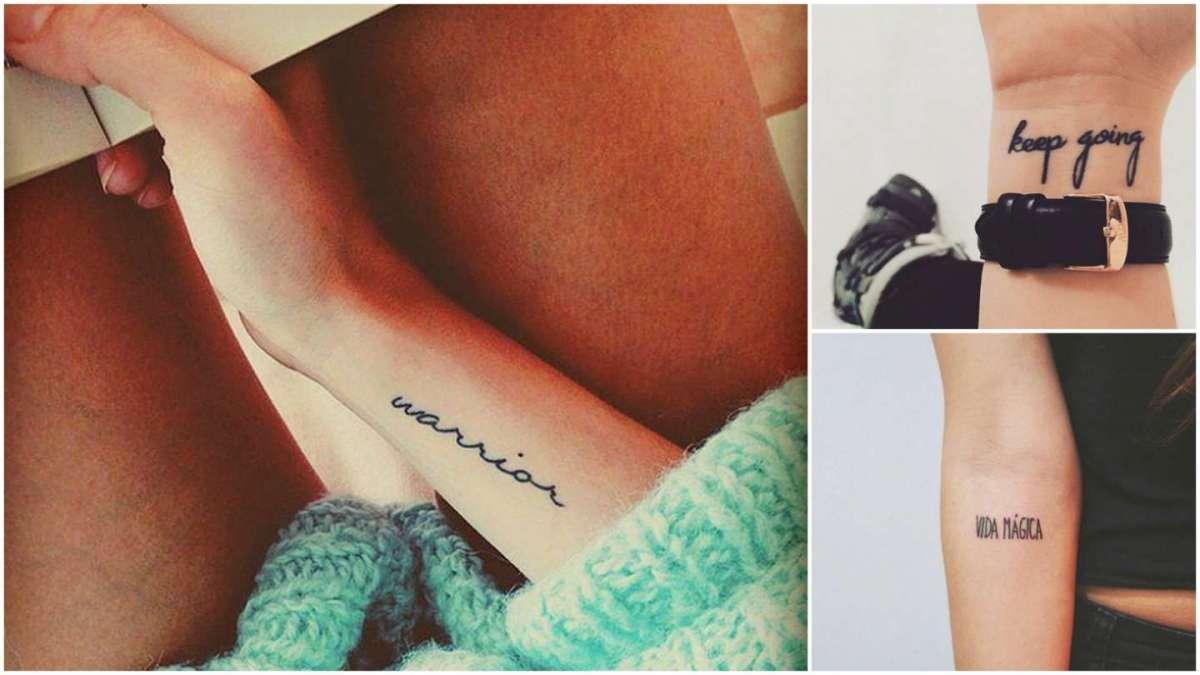 Frasi brevi per tatuaggi: foto e consigli per scegliere quella giusta