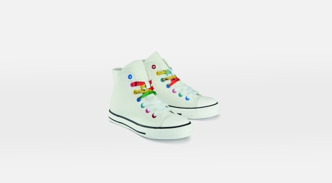 Sneakers alte per bambina Letsdenim Esmara by Heidi Klum per Lidl