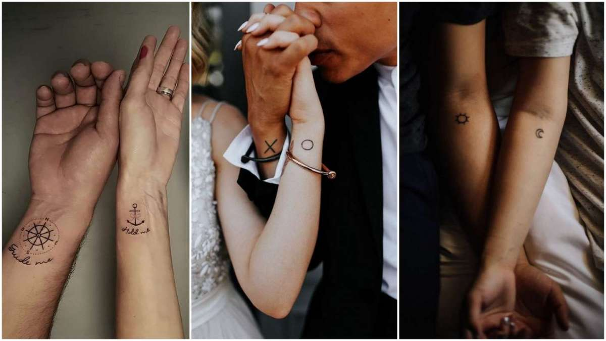 Tatuaggi di coppia: un disegno per due per celebrare l'amore