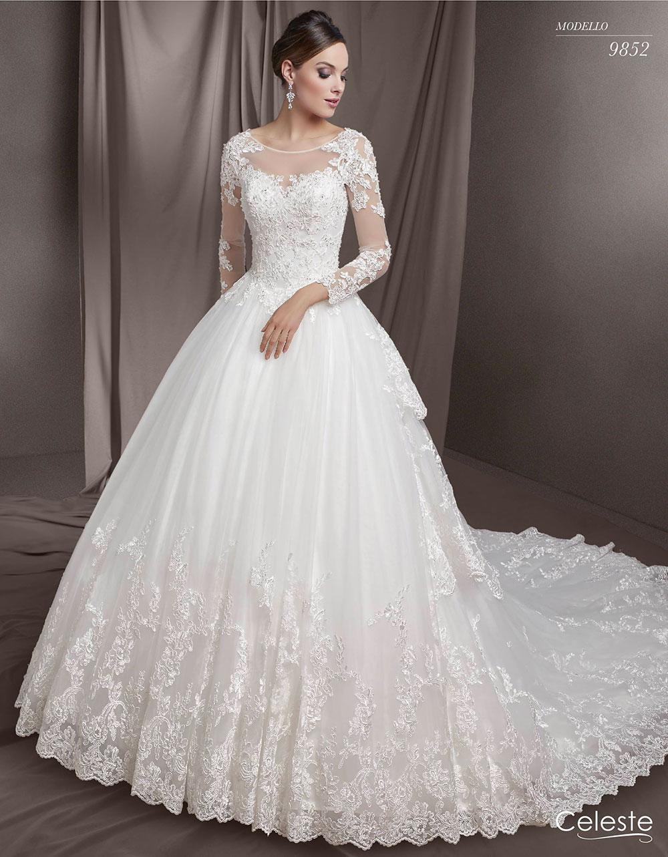 4a5bc0a821c9 Abiti da sposa Celeste 2018  la nuova collezione